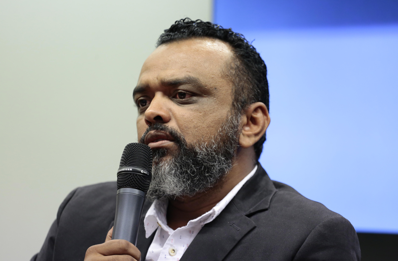 Audiência Pública para discutir Sobre a situação dos Correios. José Rivaldo representante da FENTECT