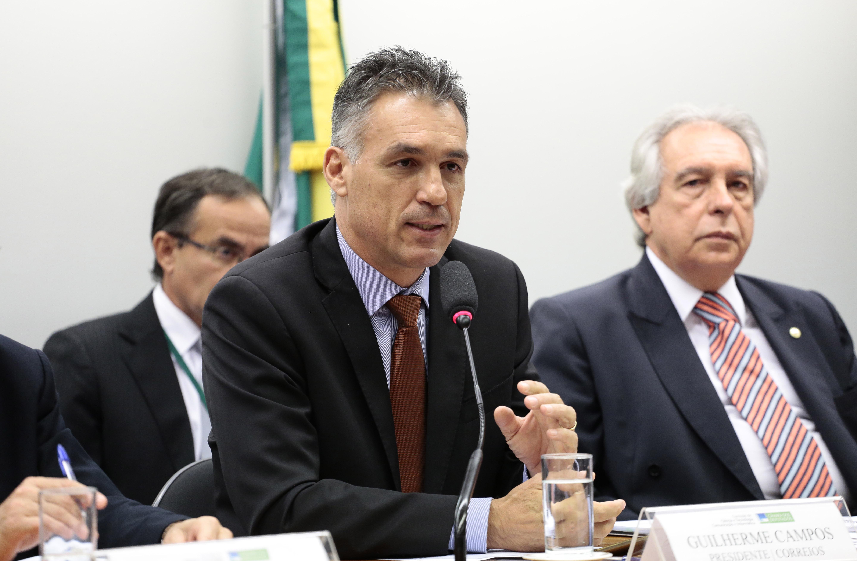 Audiência Pública para discutir Sobre a situação dos Correios. Guilherme Campos Presidente dos Correios