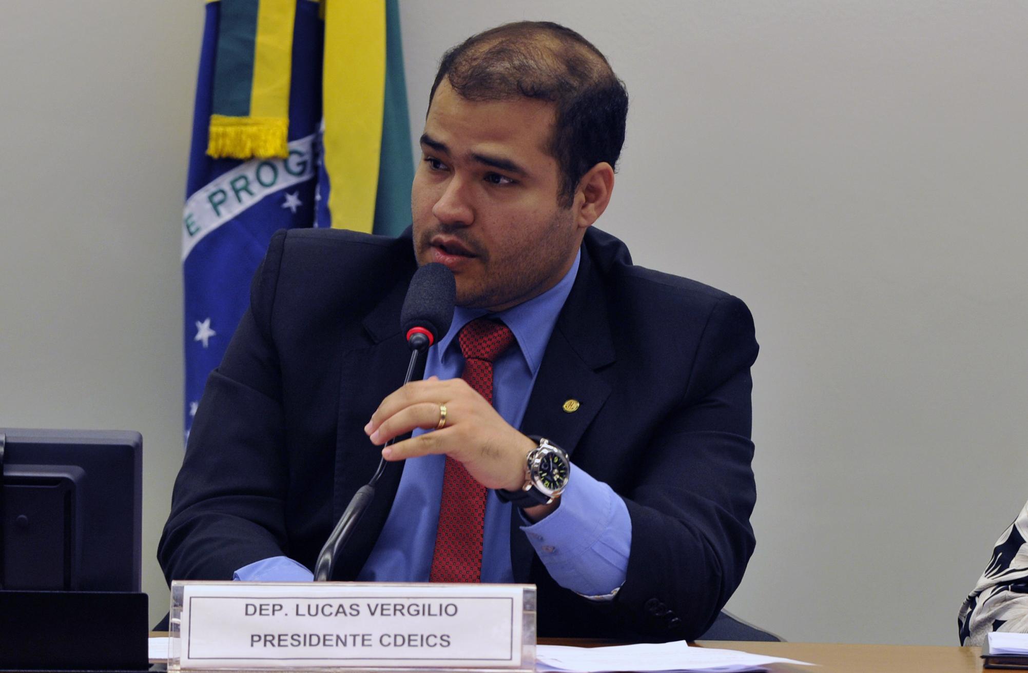 """Audiência pública sobre possíveis consequências para o desenvolvimento econômico do País da """"Operação Carne Fraca"""", realizada pela Polícia Federal. Dep. Lucas Vergilio (SD - GO)"""