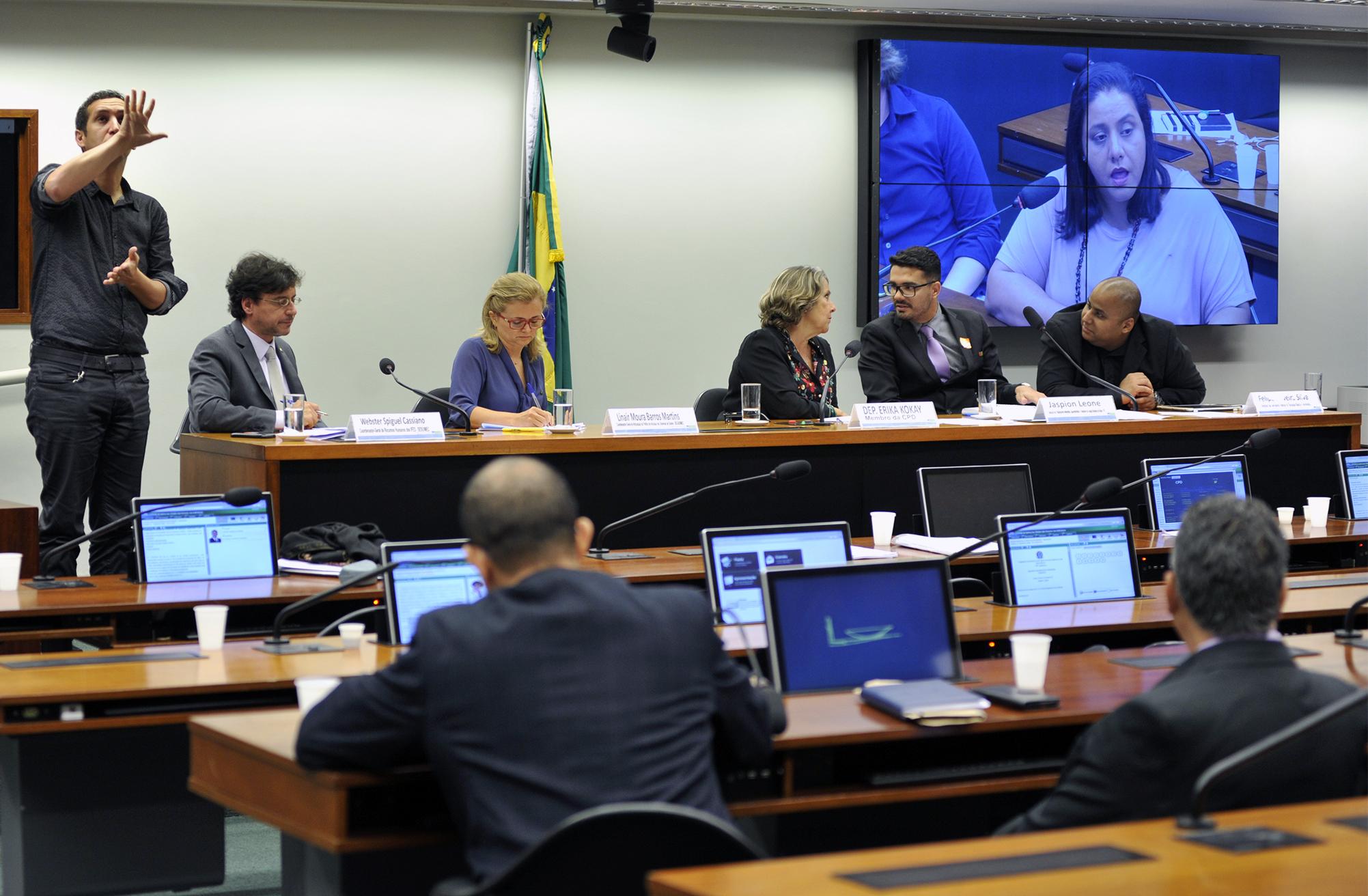 Audiência pública sobre a situação e contratação de tradutor e intérprete de Libras nas instituições federais de ensino