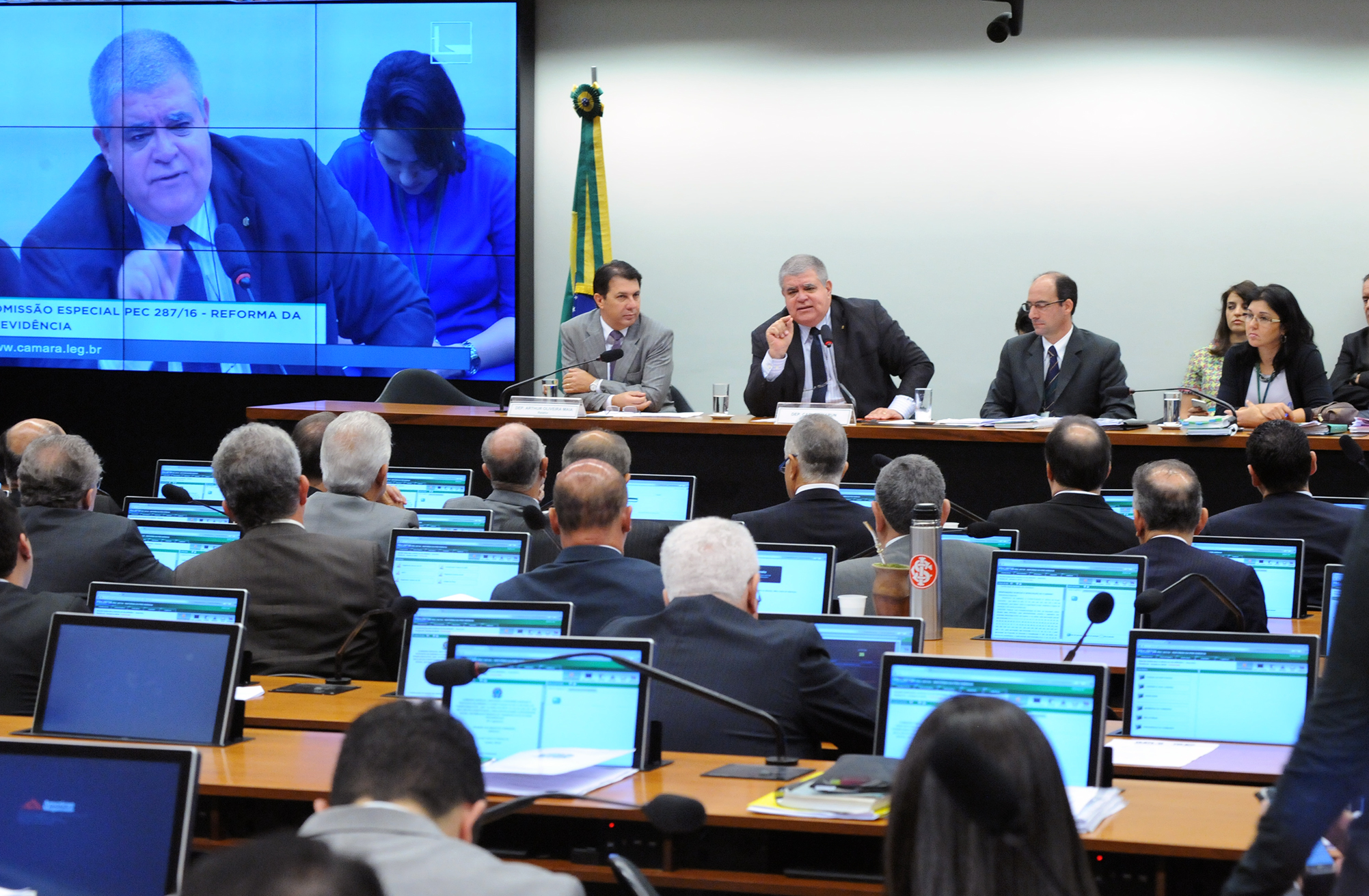 Reunião ordinária para a continuação da votação dos destaques da proposta
