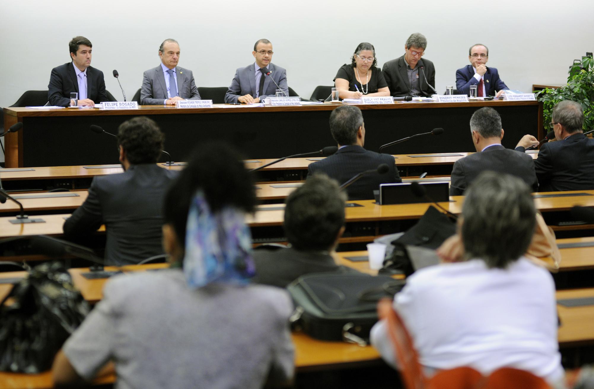 Audiência pública sobre o relatório da Comissão de Finanças e Tributação do PL 3729/04 sobre Licenciamento Ambiental