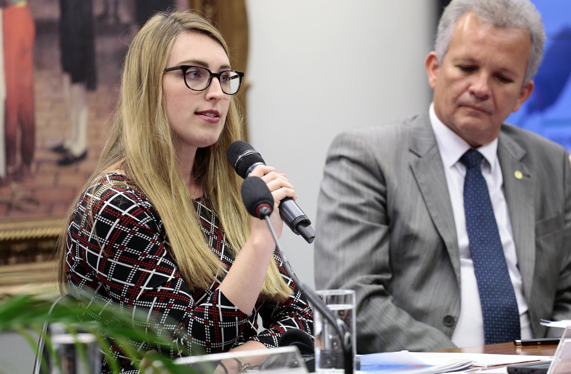 Seminário internacional sobre privacidade e proteção de dados pessoais. Senior Manager - US Chamber`s Center for Global Regulatory Cooperation - GRC, Kara Sutton