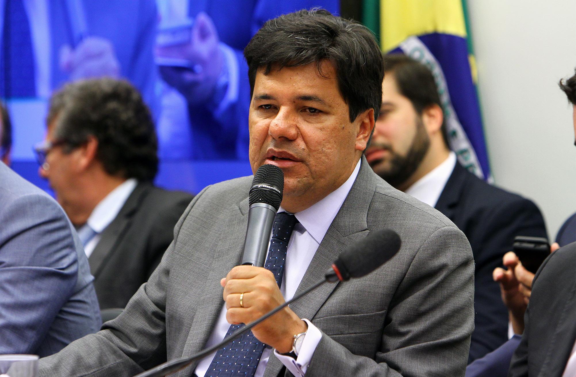 Reunião de Comparecimento com a presença do ministro da Educação, José Mendonça Bezerra Filho