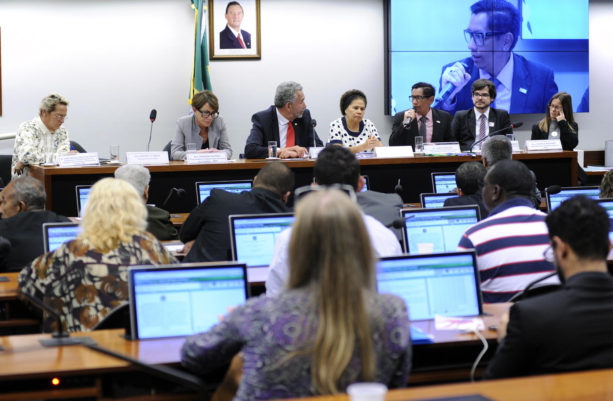 Reunião ordinária sobre o dia Internacional Contra a LGBTfobia e audiência contra os crimes de ódio e em homenagem a Renildo José dos Santos