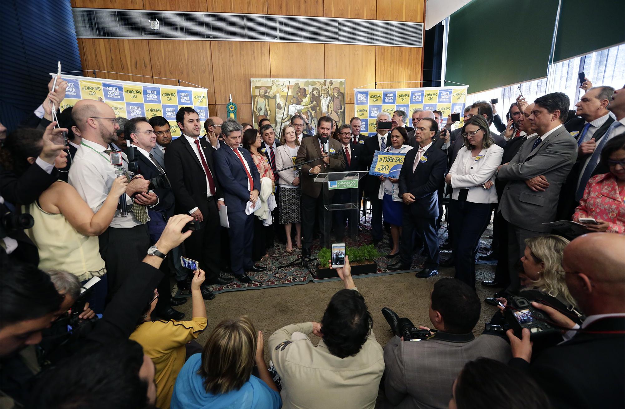Lançamento da Frente. Carlos Lupi