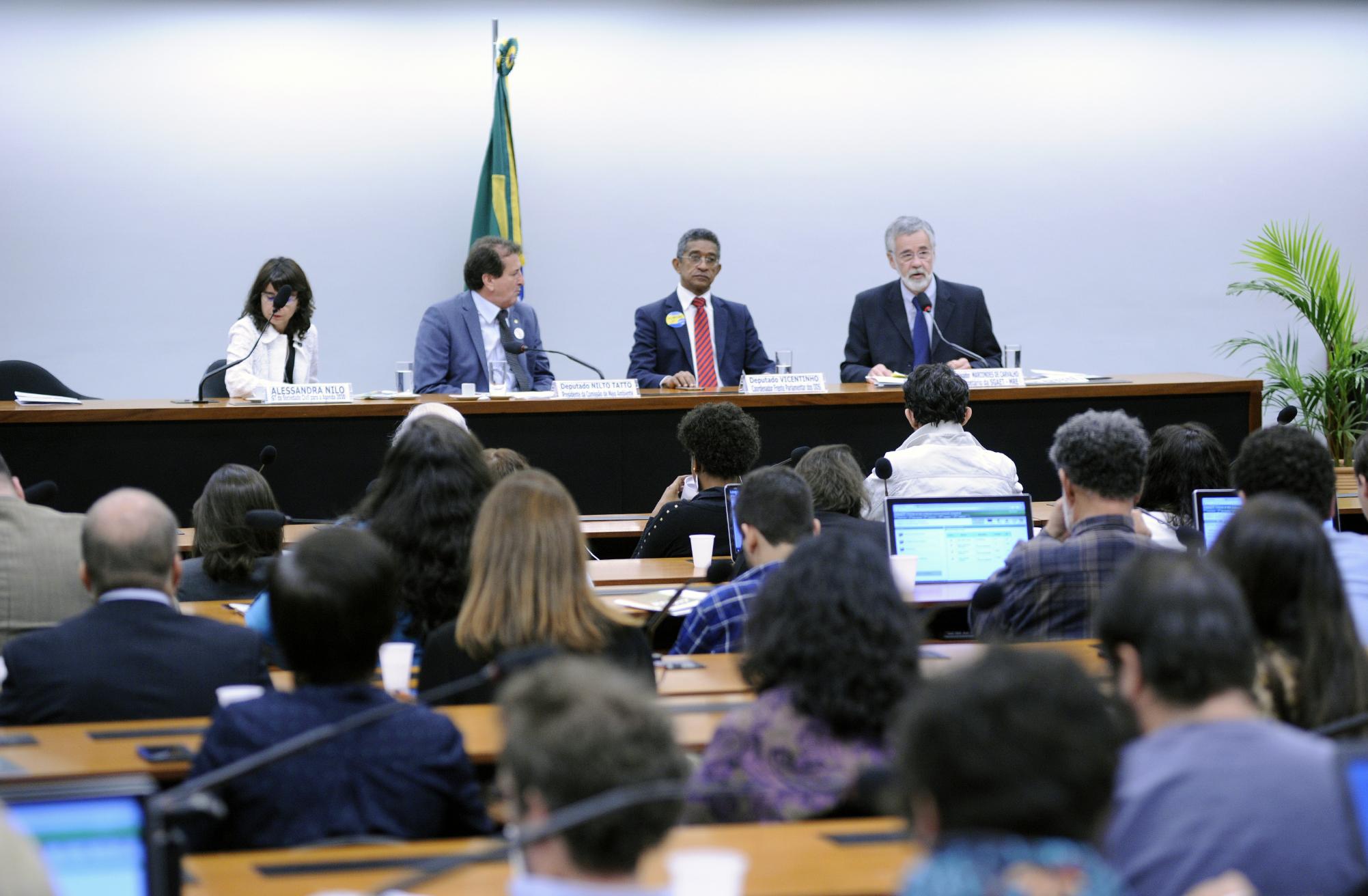 Seminário: Objetivos de Desenvolvimento Sustentável - Avanços e Desafios na Implementação da Agenda 2030 no Brasil