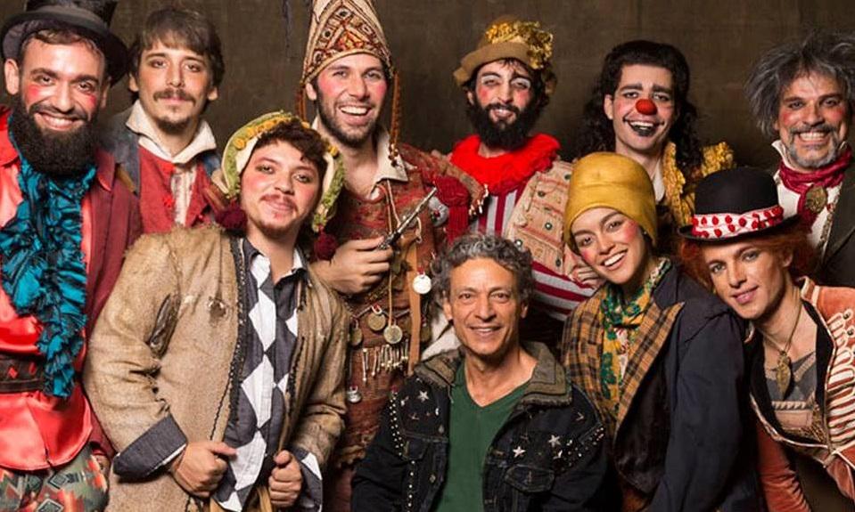 Programa Trilha das Artes - Luis Carlos Vasconcelos e elenco