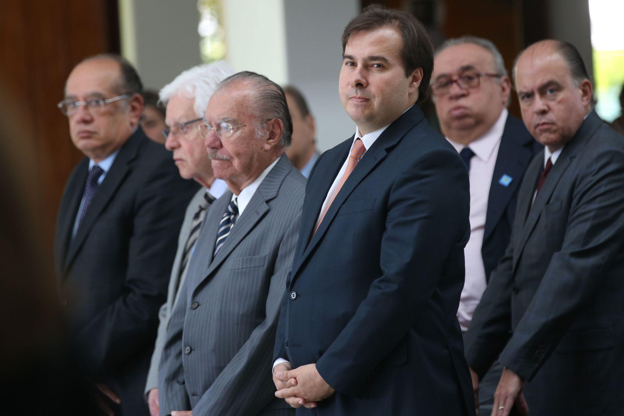 No exercício da Presidência da República, Rodrigo Maia participa da Missa 7o dia do jornalista Jorge Bastos Moreno .jpg