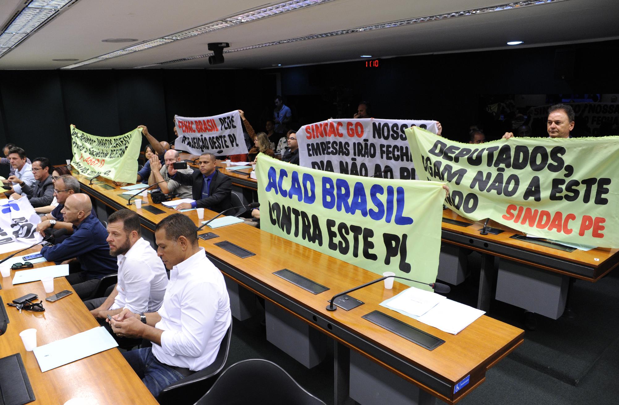 Audiência pública sobre para discutir o PL 4667/16 e a importância da atividade física e da Educação Física para a qualidade de vida da população brasileira