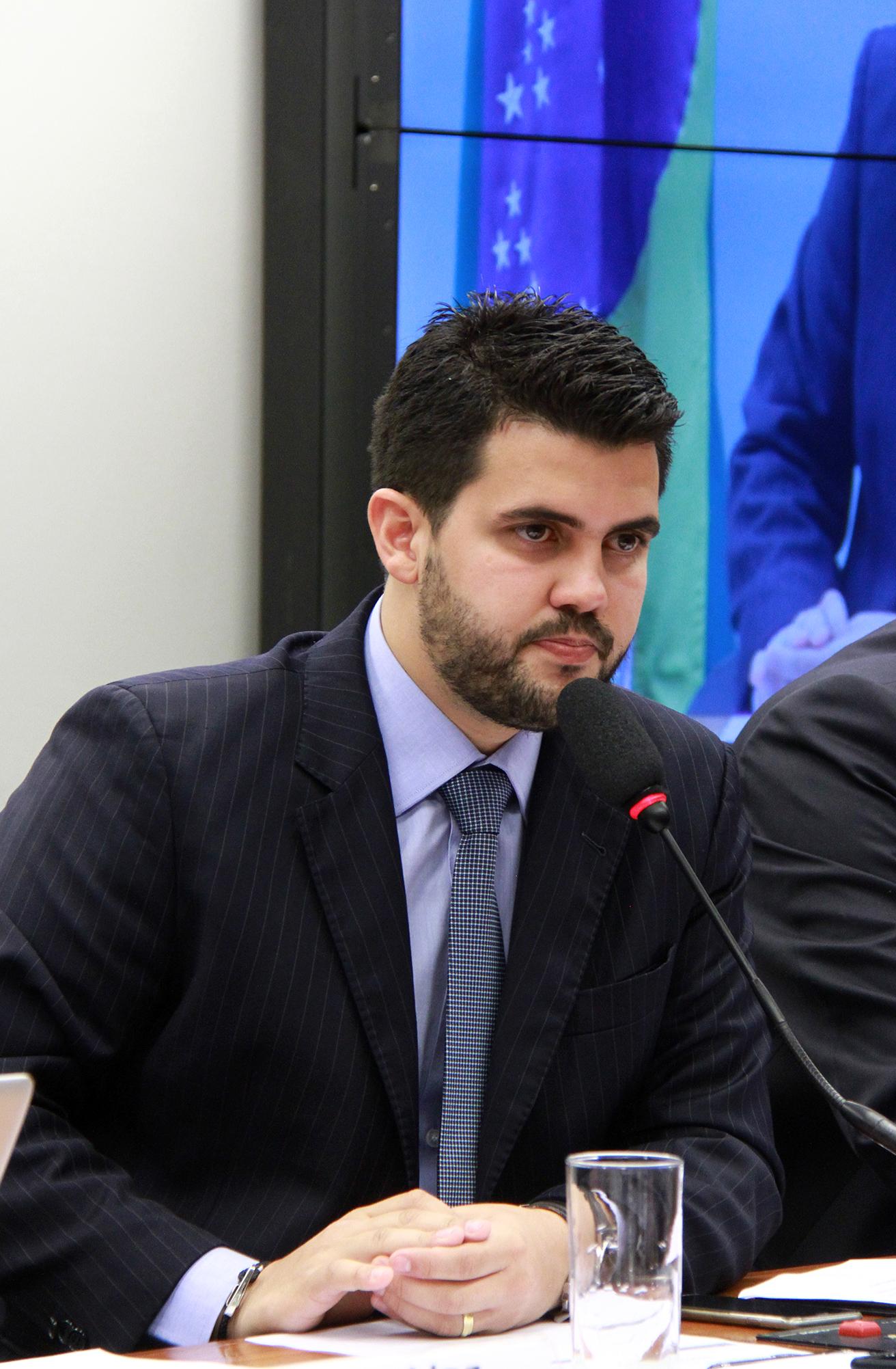 Audiência pública sobre as possibilidades de controle das contas públicas usando dados abertos. Presidente da CFFC, dep. Wilson Filho (PTB-PB)