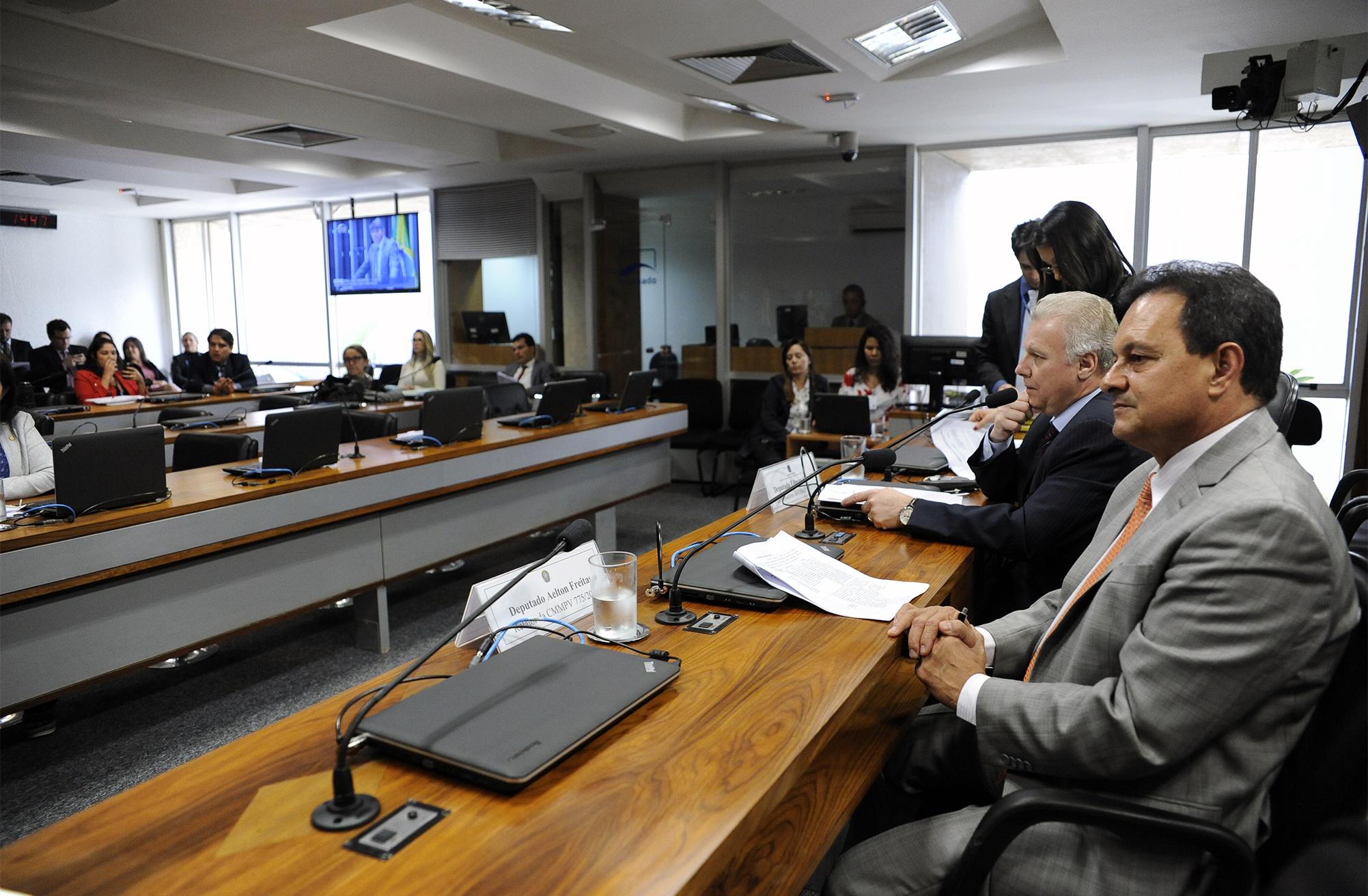 Comissão Mista sobre MP 775/17, que obriga o registro dos bens constituídos em todas as operações realizadas no mercado financeiro (bancário, interbancário e acionário), independente da natureza do negócio