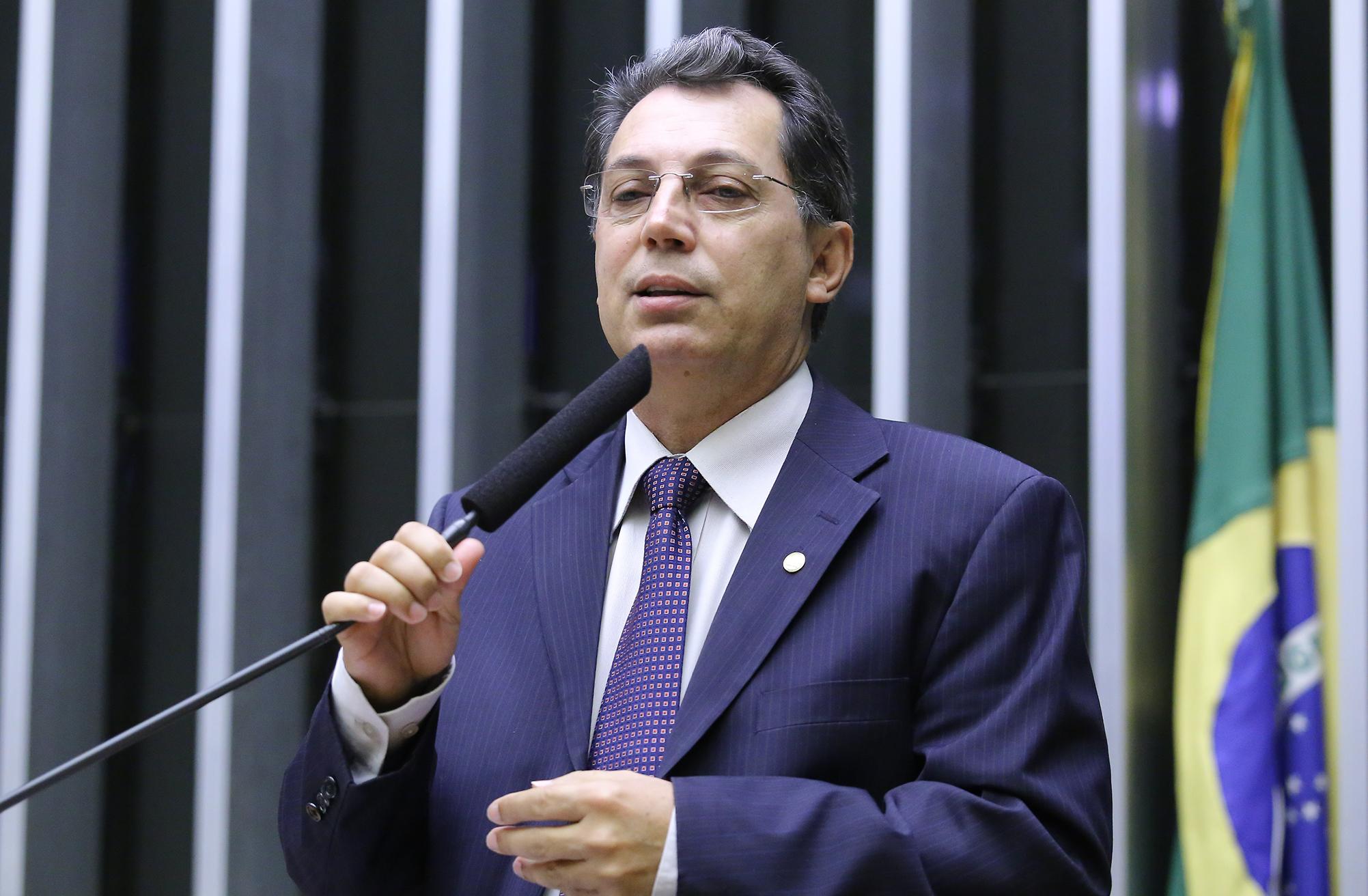 Sessão solene em homenagem aos 27 Anos do Instituto Nacional do Seguro Social (INSS). Dep. Ezequiel Fonseca (PP-MT)