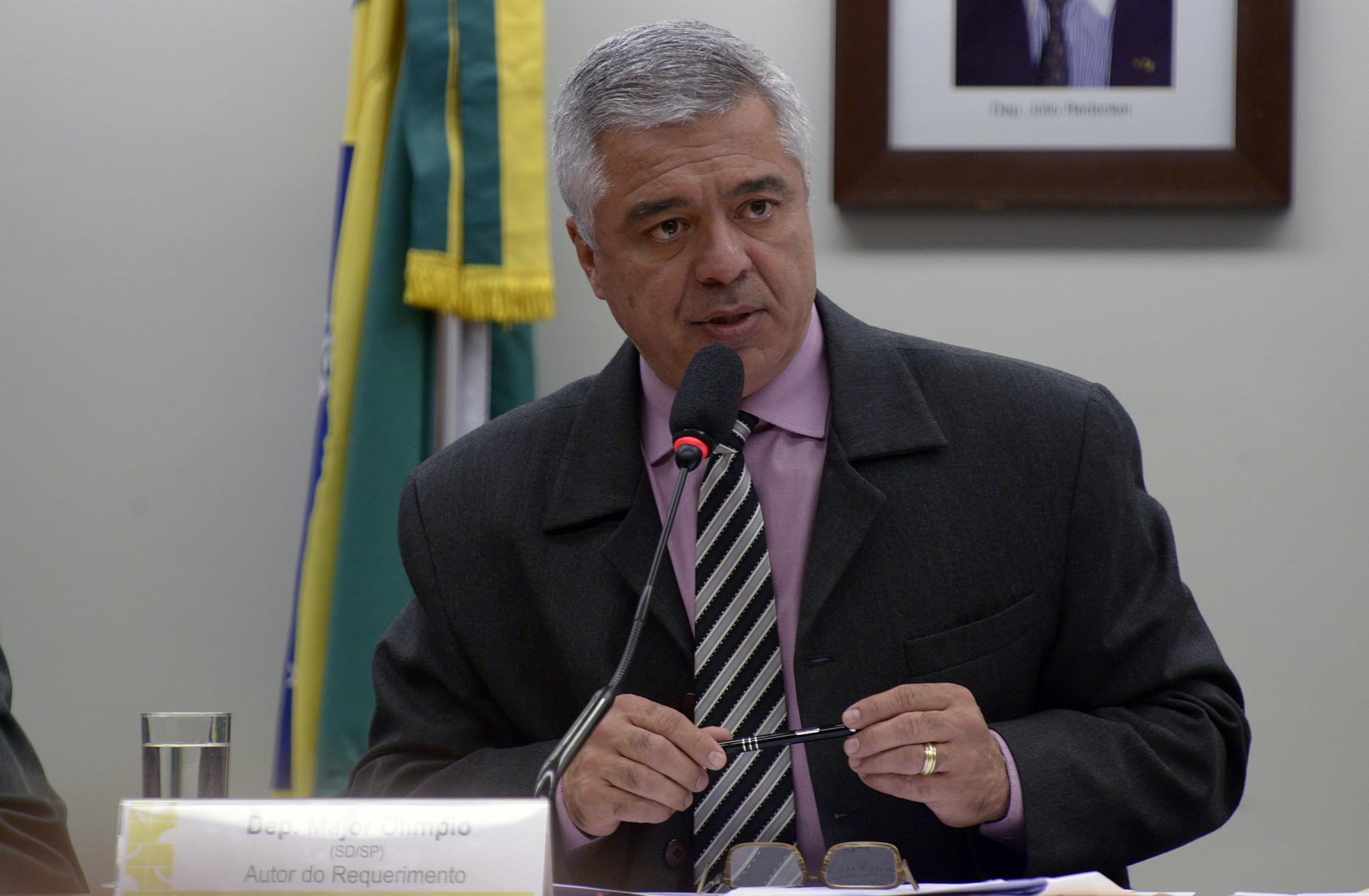 Audiência pública sobre o sucateamento da Polícia Militar de São Paulo e o seu efeito para a população. Dep. Major Olimpio (SD - SP)