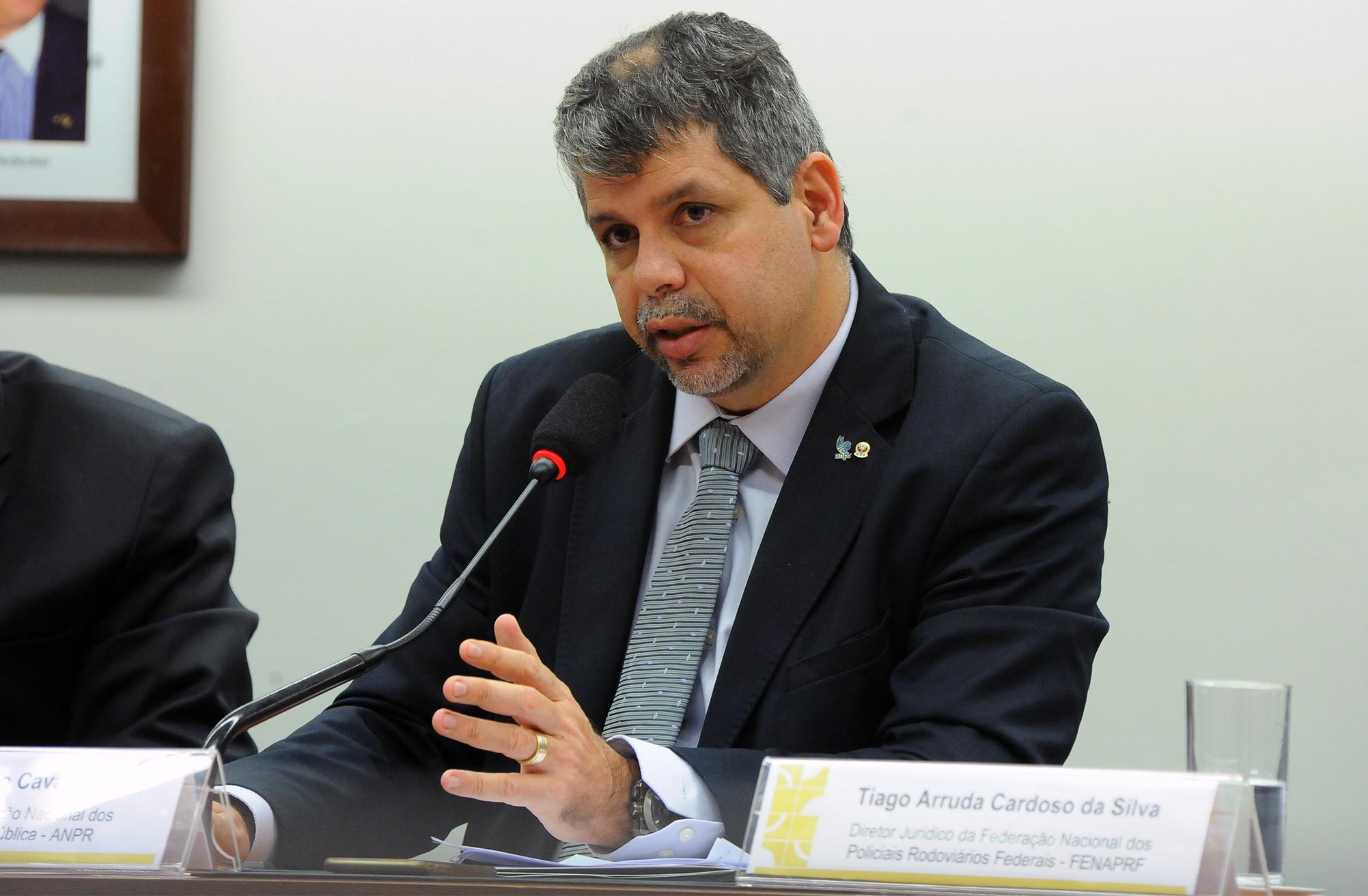 Audiência Pública. Presidente da Associação Nacional dos Procuradores da República - ANPR, JOSÉ ROBALINHO CAVALCANTI
