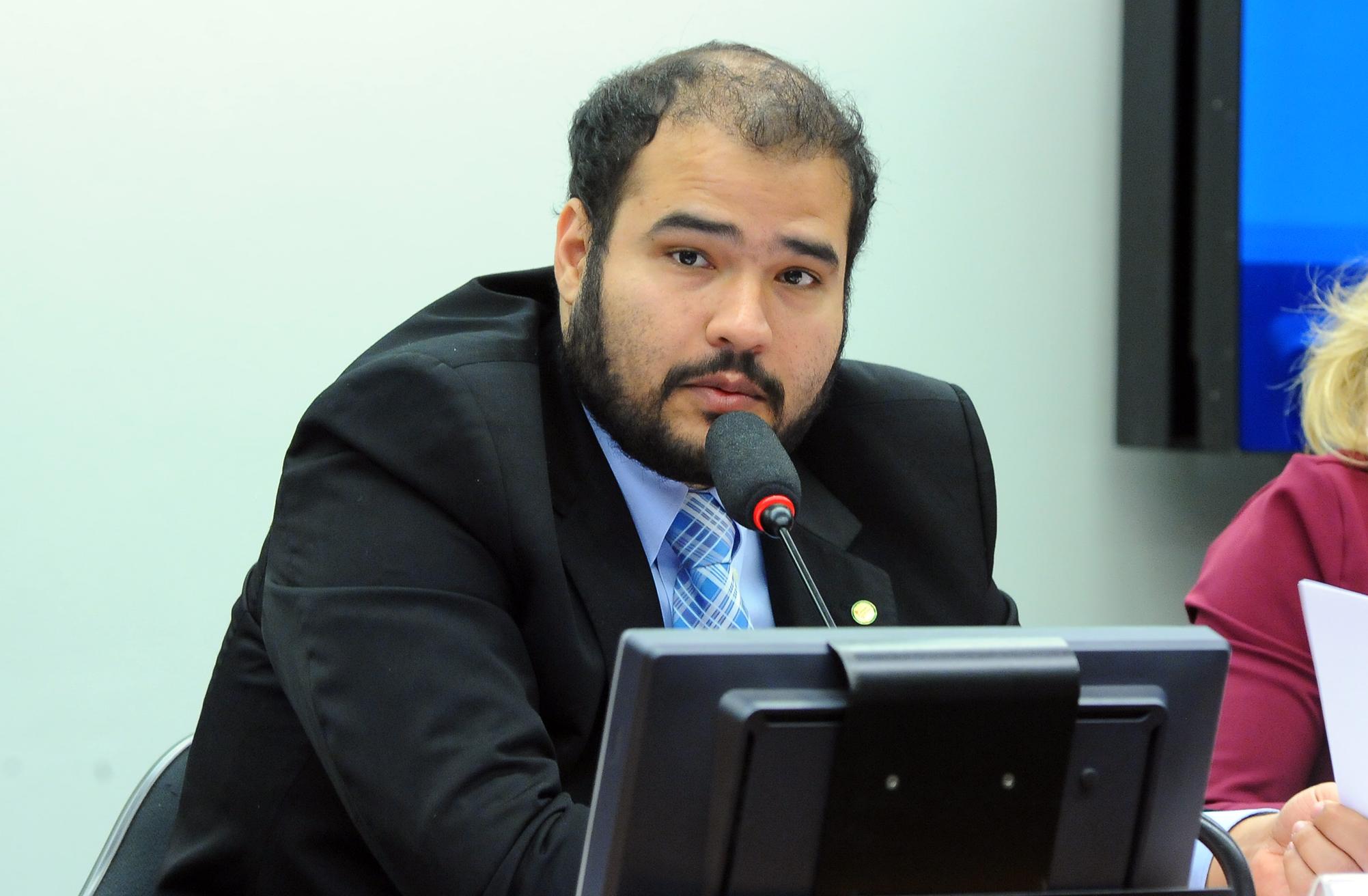 Reunião Ordinária. Presidente da CDEICS, Lucas Vergílio (SD-GO)