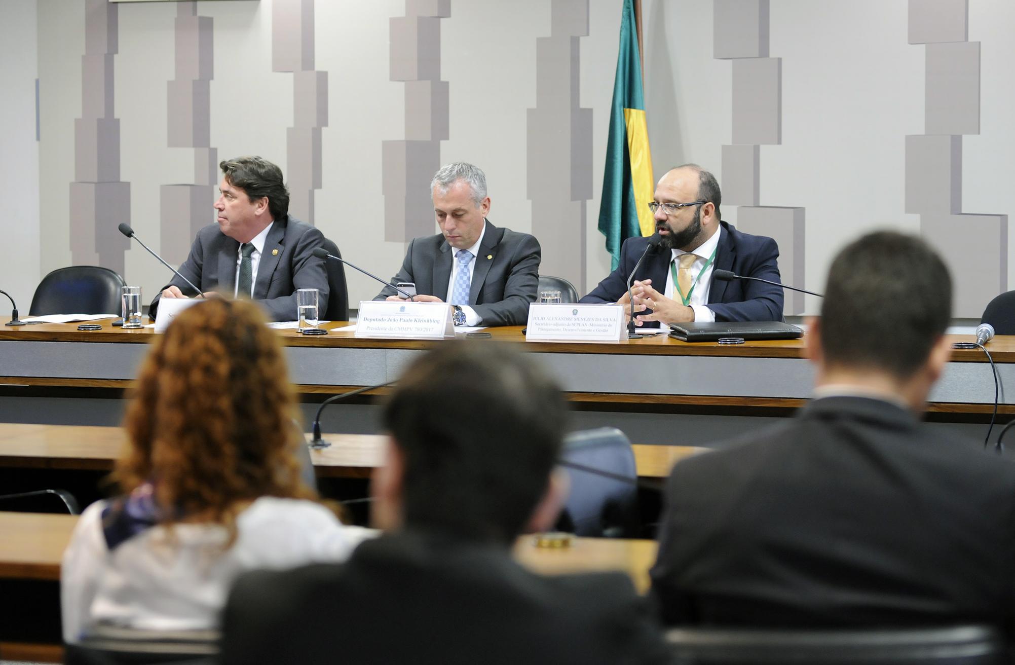 Comissão Mista sobre a MP 780/17, que permite a regularização de débitos não tributários