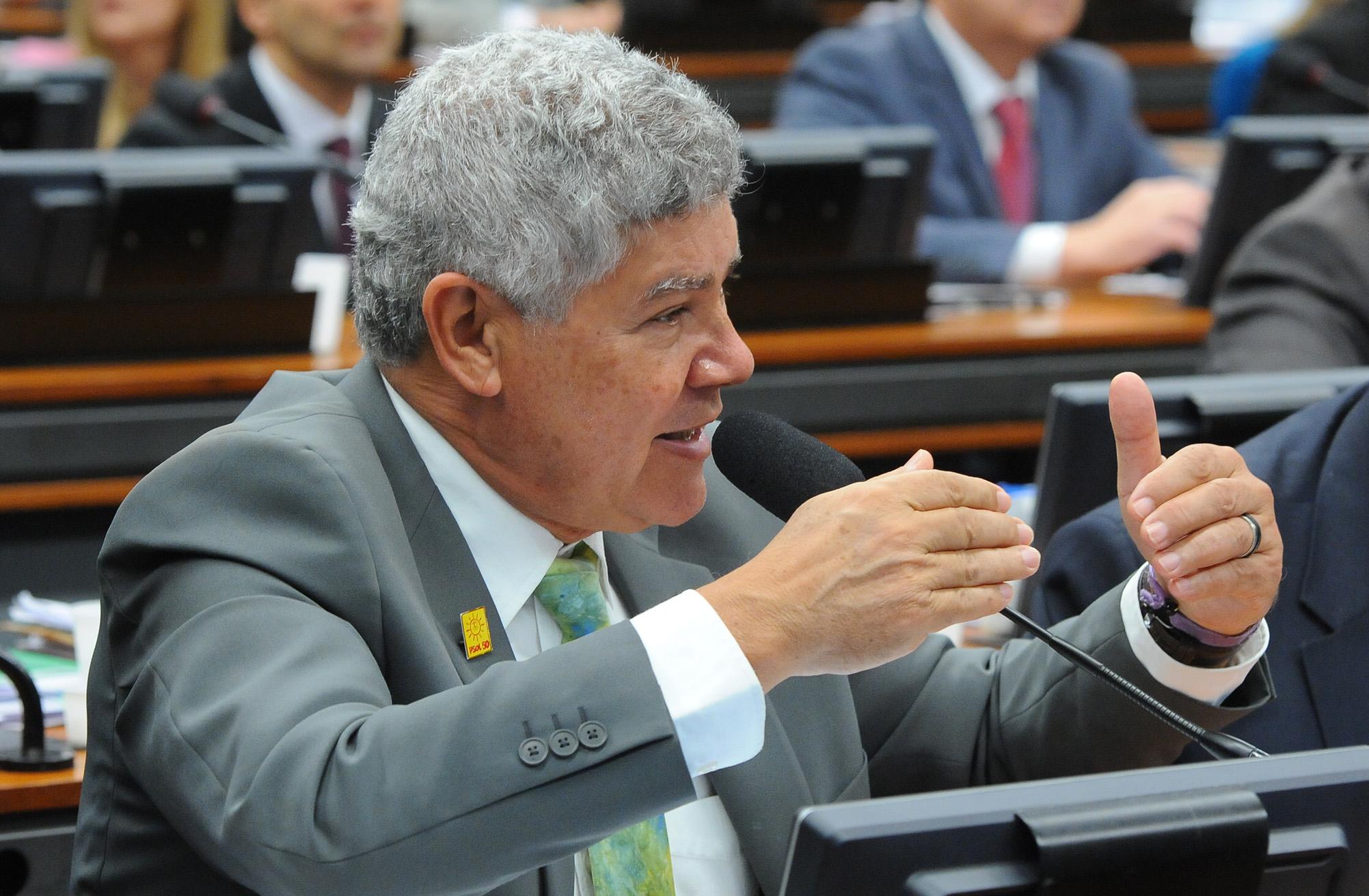 Reunião para discussão do parecer do relator da denúncia contra o presidente da República, Michel Temer. Dep. Chico Alencar (PSOL-RJ)