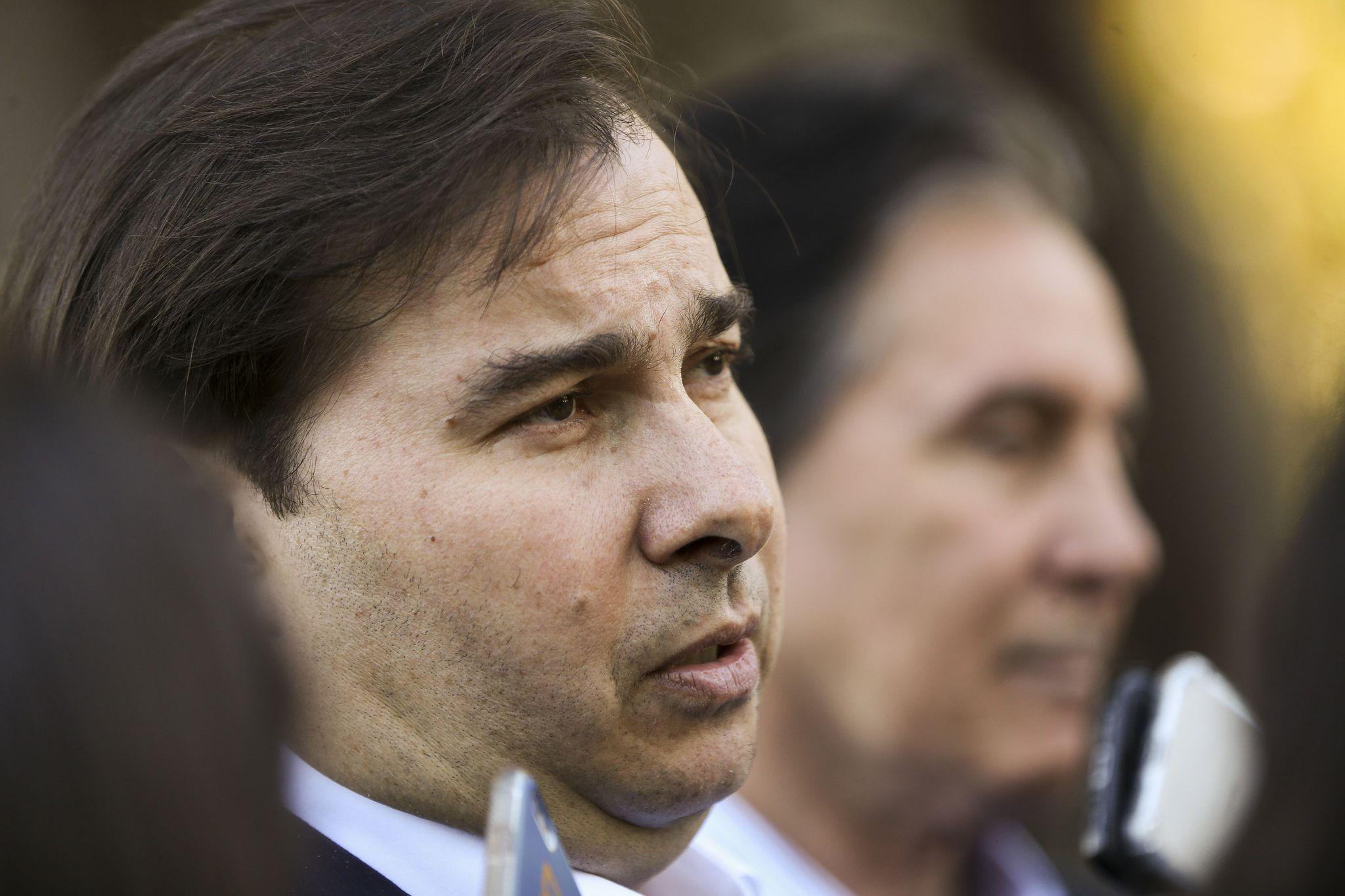 Fotos do dia - Rodrigo Maia presidente da Câmara