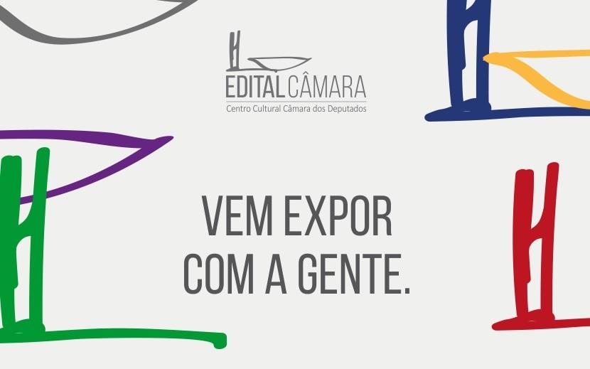 banner - Edital de exposições do Centro Cultura da Câmara dos Deputados