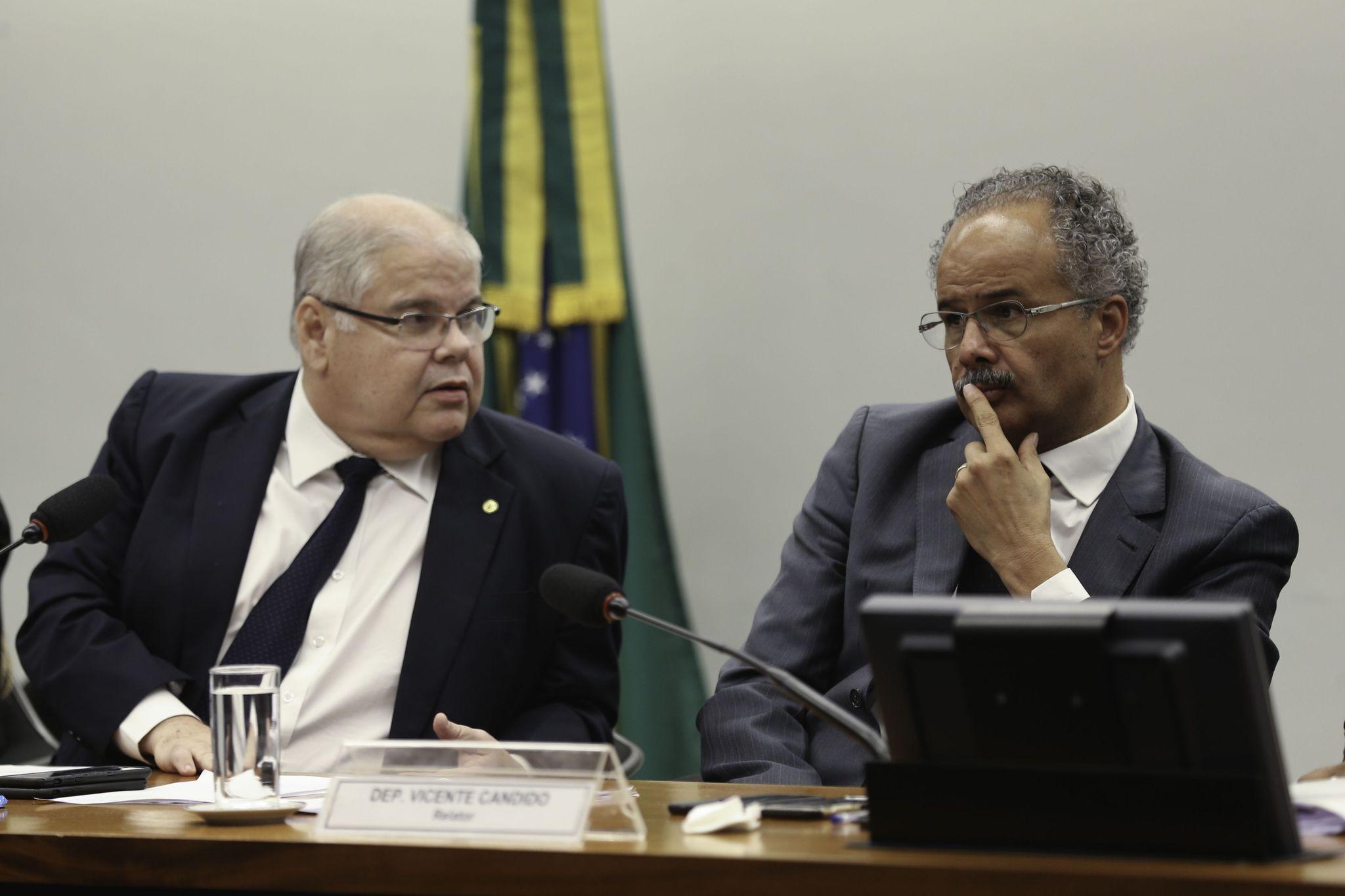 Reunião da Reforma política - deputados  Lúcio Vieira Lima e Vicente Candido