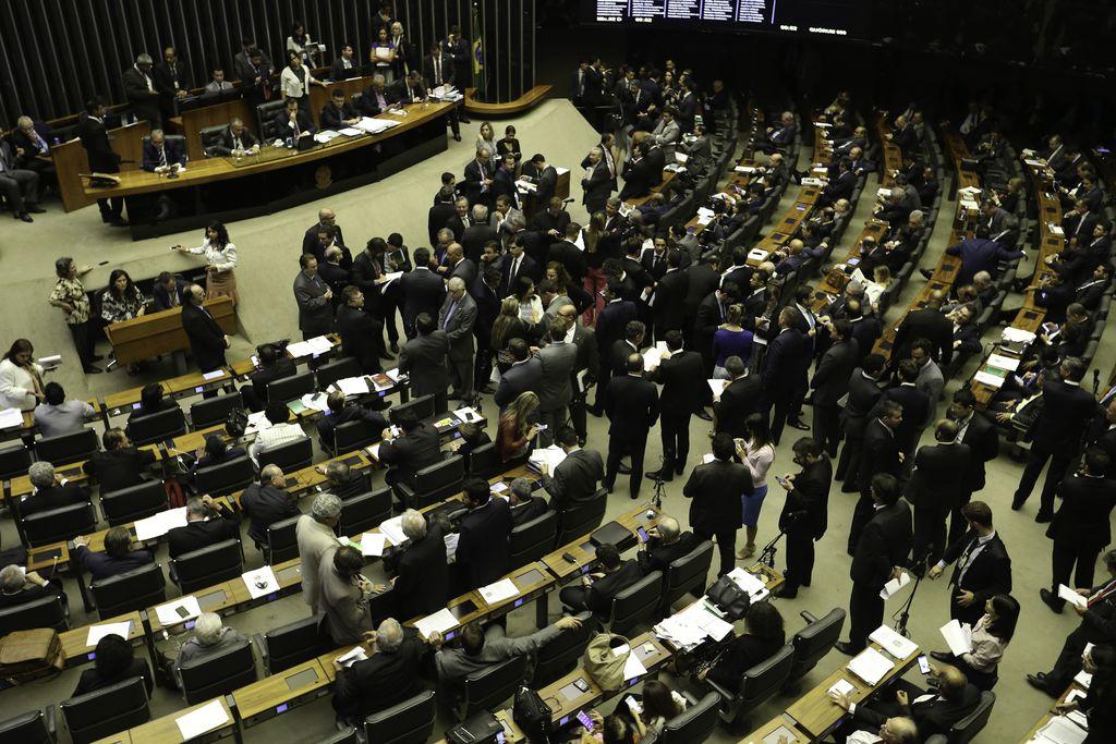 Câmara - Plenário - votações ordem do dia Rodrigo Maia