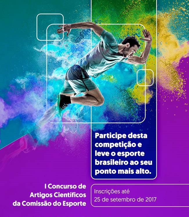 Banner - Esportes - Educação - Cultura - I Concurso de Artigos Científicos da Comissão do Esporte
