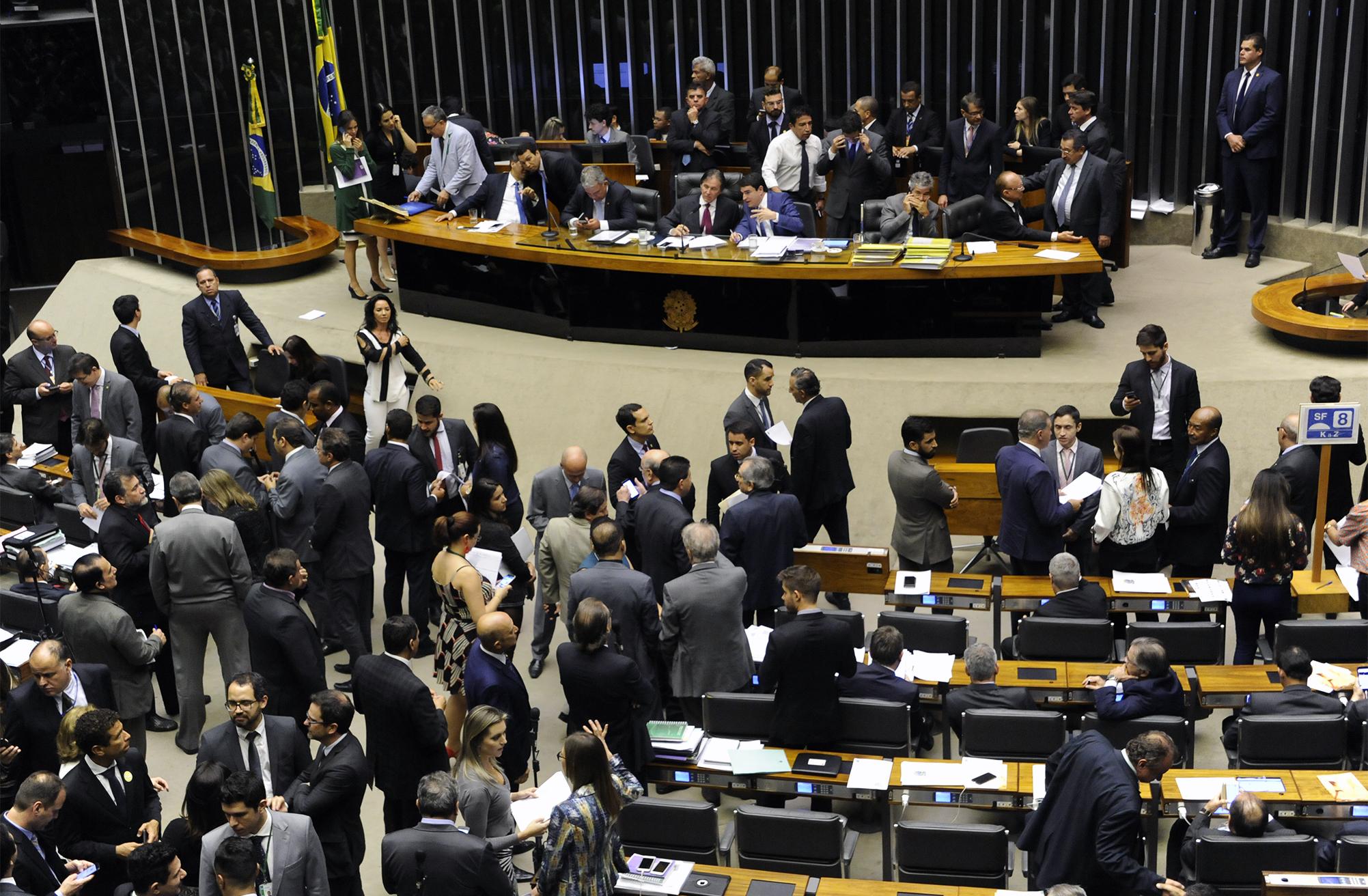 Sessão do Congresso Nacional para análise de vetos presidenciais