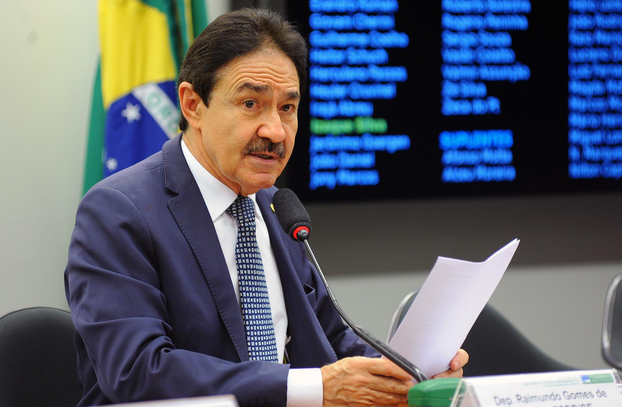 Audiência pública sobre as diretrizes operacionais de financiamento à Carcinicultura. Dep. Raimundo Gomes de Matos (PSDB - CE)