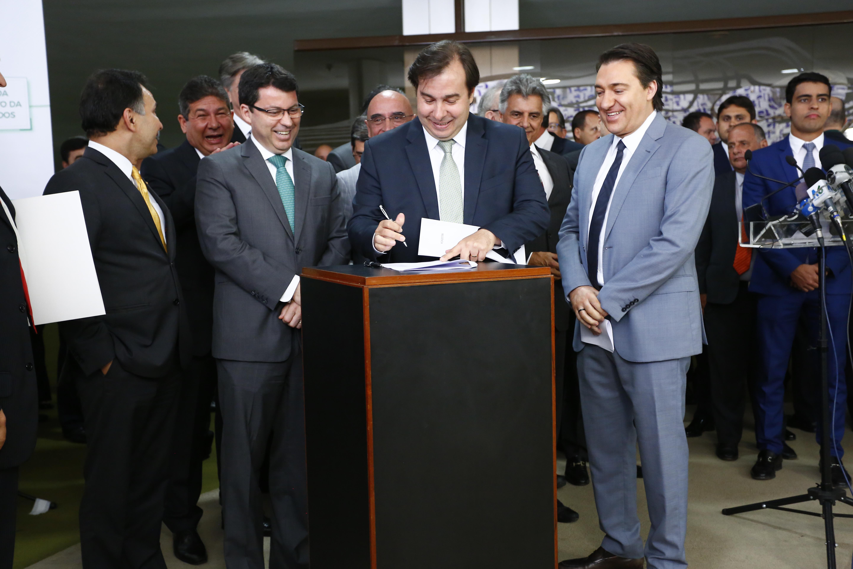 Assinatura Convênio CD-CEF-BB