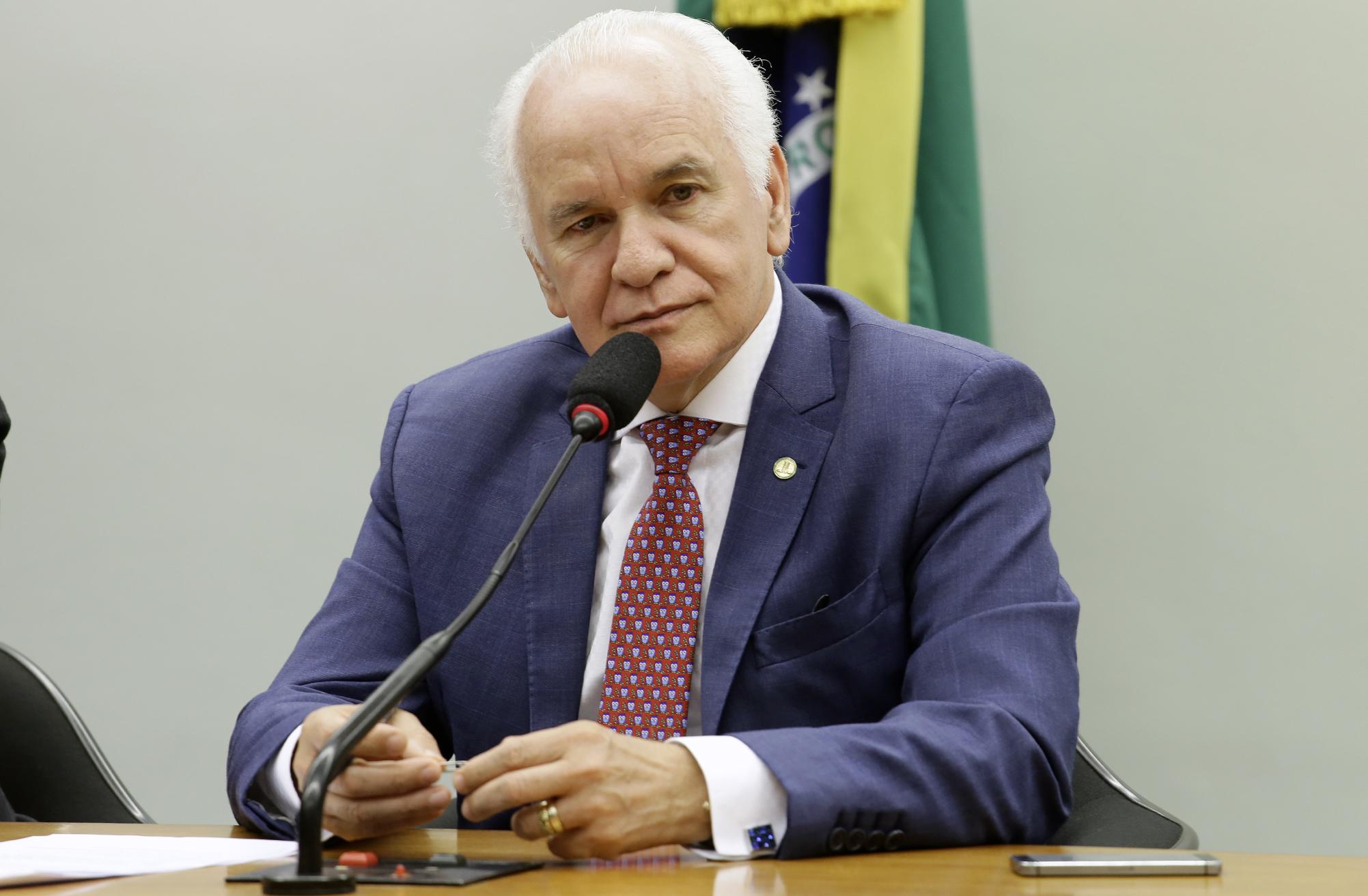 Audiência pública sobre as formas de violência contra a pessoa idosa e a importância da delegacia do idoso. Dep. Gilberto Nascimento (PSC - SP)
