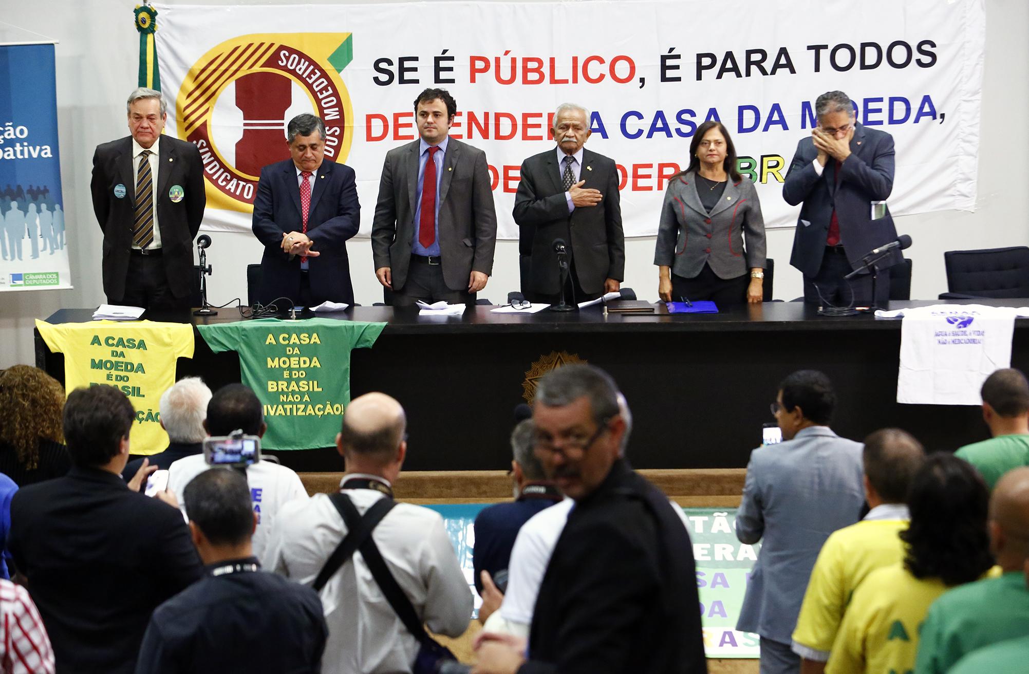 Audiência pública sobre as privatizações propostas pelo Governo Federal