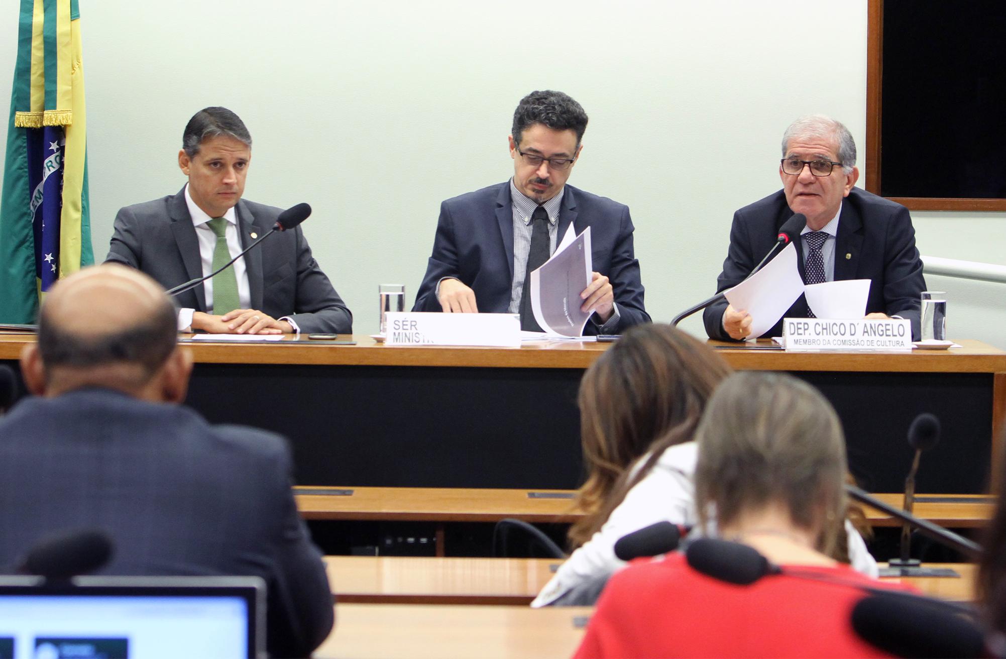 Audiência pública sobre as consequências para o setor da produção audiovisual do veto presidencial à prorrogação do RECINE e da Lei do Audiovisual