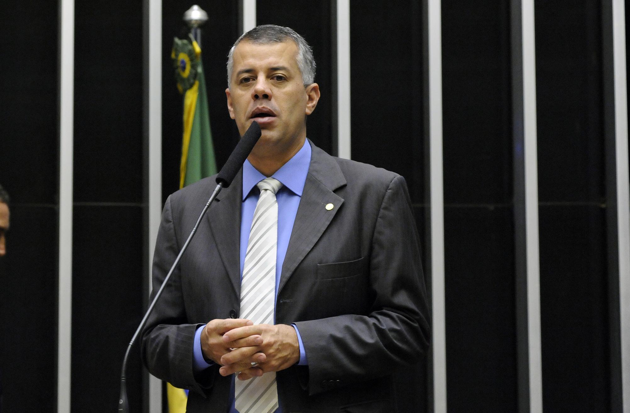 Sessão Solene de posse dos deputados jovens e eleição da Mesa Diretora do PJB 2017. Dep.Evair Vieira de Melo(PV - ES)