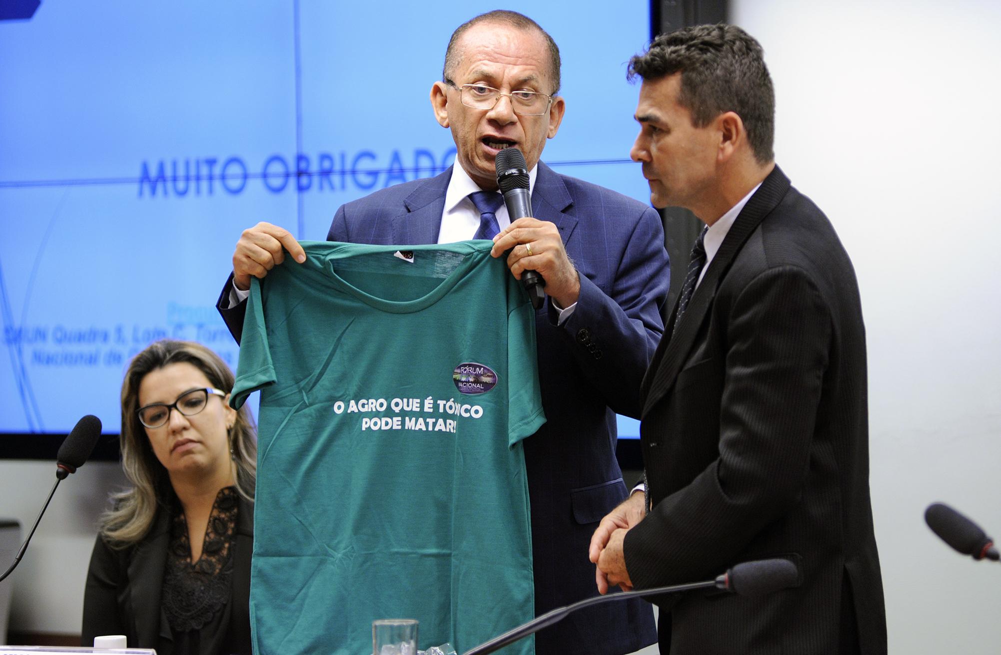 Audiência pública sobre os impactos do uso de agrotóxicos na saúde humana. Procurador Regional do Trabalho da 6° Região, Pedro Luiz Gonçalves Serafim