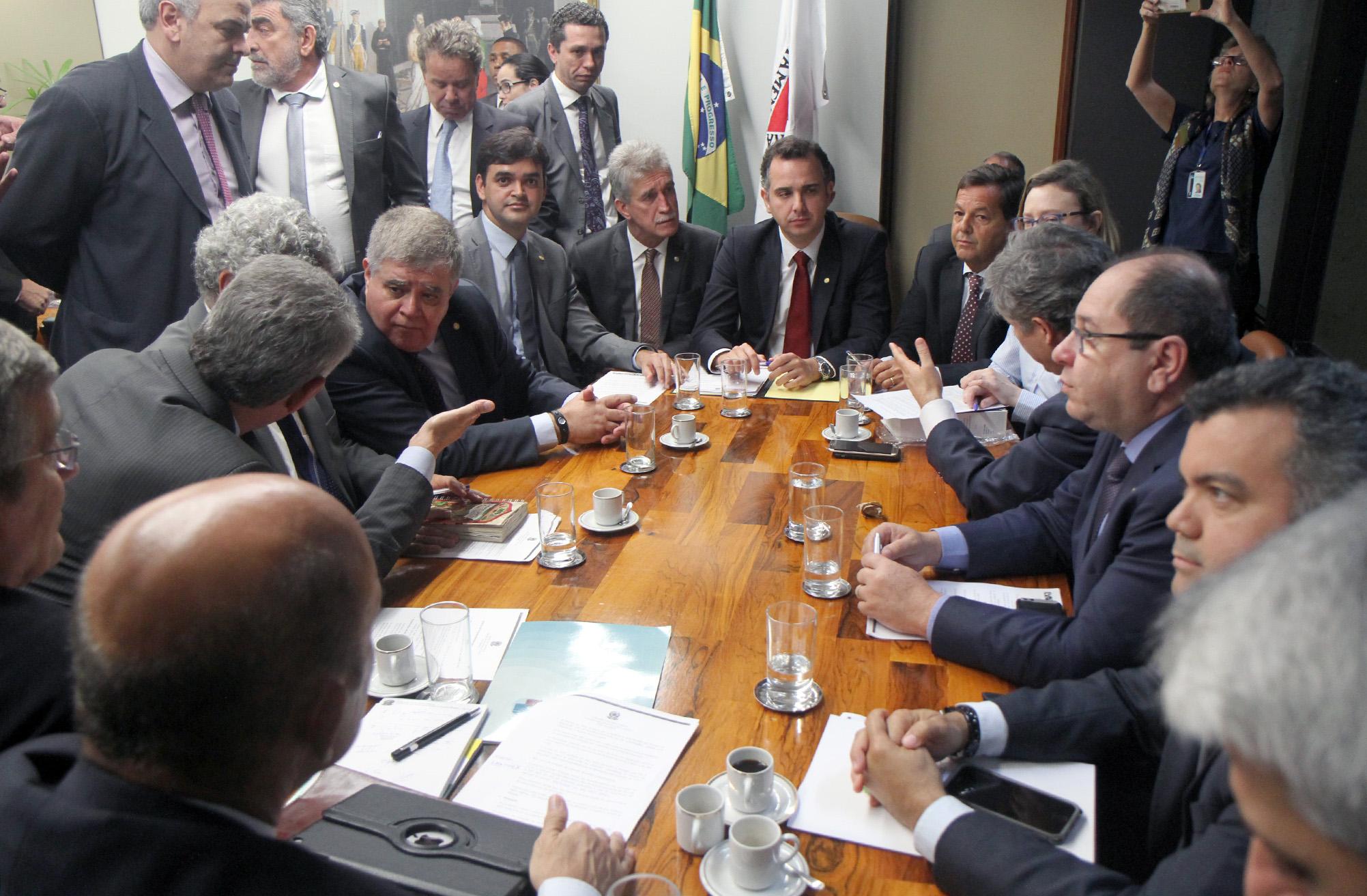 Reunião de coordenadores de bancadas