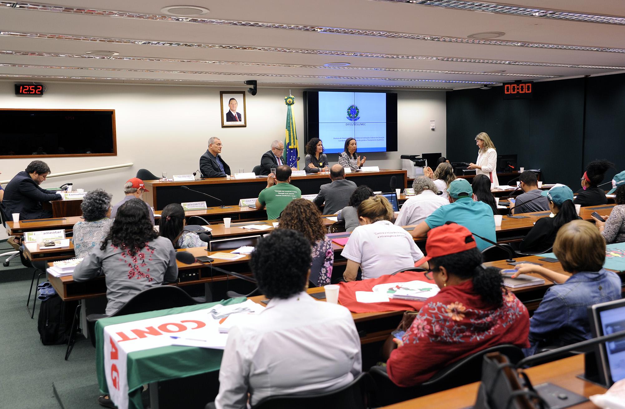 Audiência pública sobre o cenário atual das políticas públicas de educação no campo e suas perspectivas