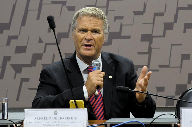 Alfredo Hélio Sirkis, secretário-executivo do Fórum Brasileiro de Mudanças Climáticas