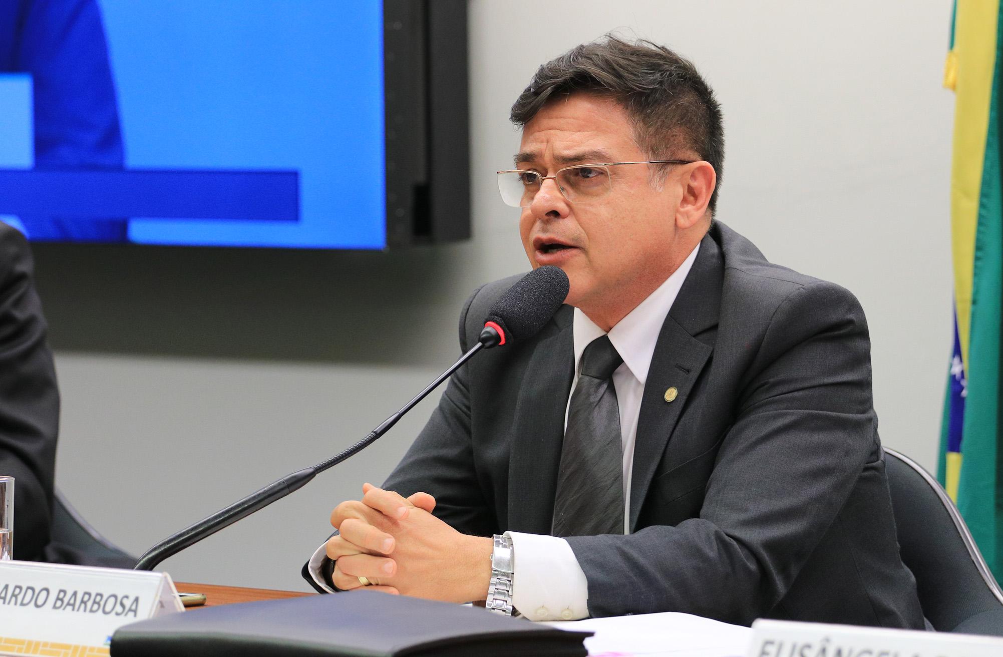 Reunião sobre o orçamento da Seguridade Social. Dep.Eduardo Barbosa(PSDB - MG)