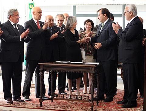Solenidade no Supremo Tribunal Federal em comemoração ao 29º aniversário da Constituição