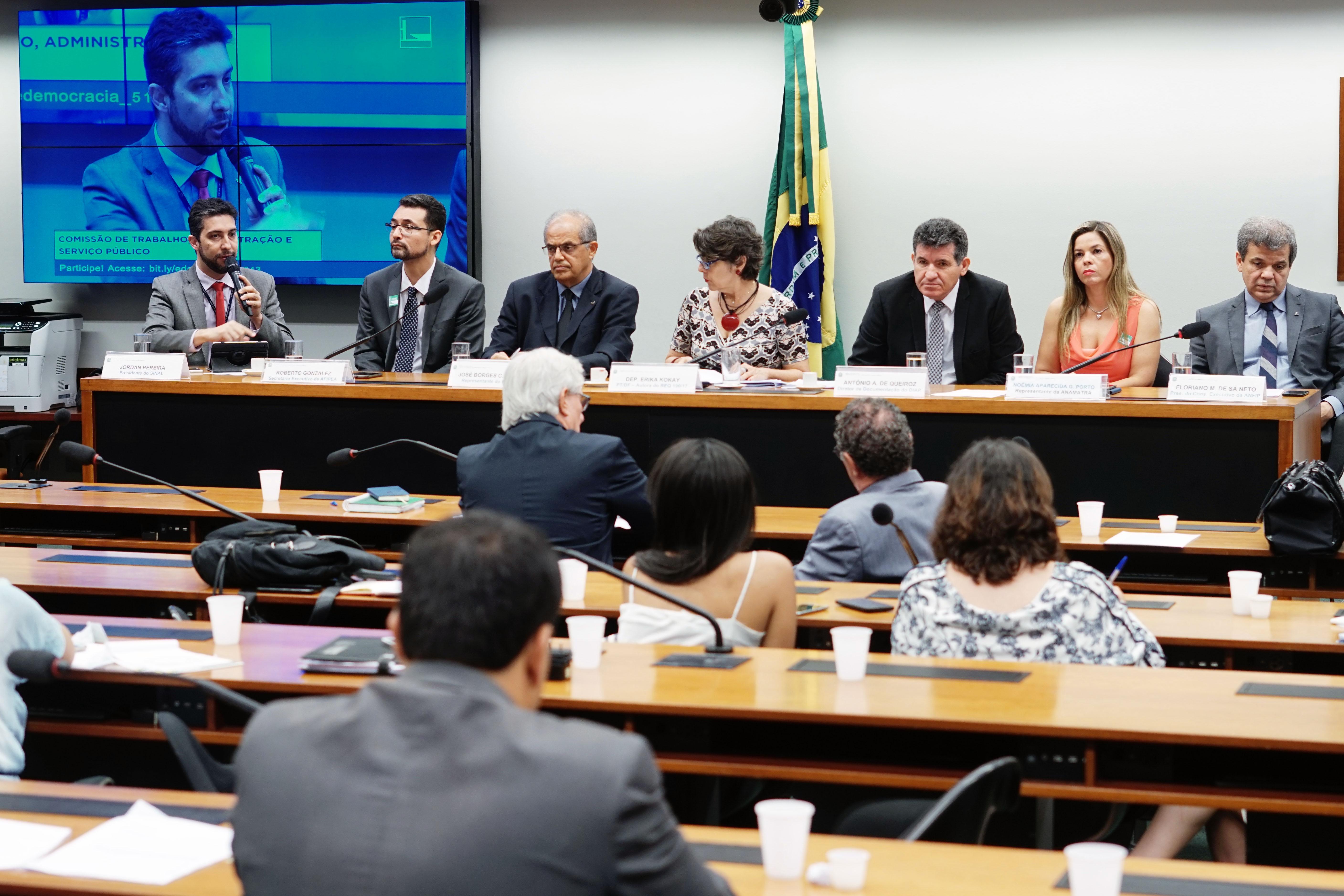 Servidores públicos defendem que projeto de lei sobre negociação coletiva seja sancionado já