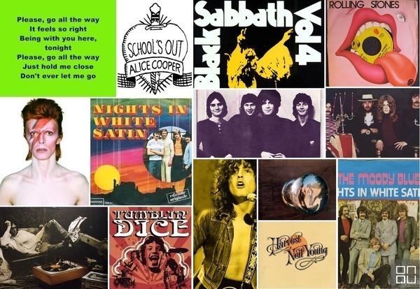 Programa Memória do Rock - O rock em 1972 - Montagem