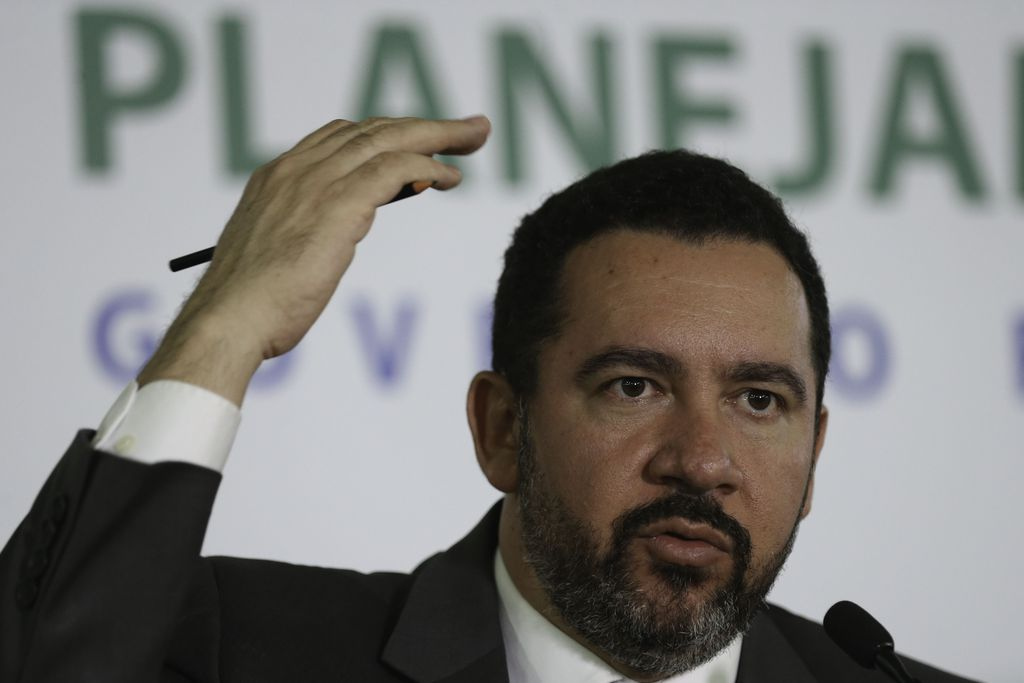 Dyogo Oliveira, ministro do Planejamento, anuncia revisão na proposta orçamentária para 2018