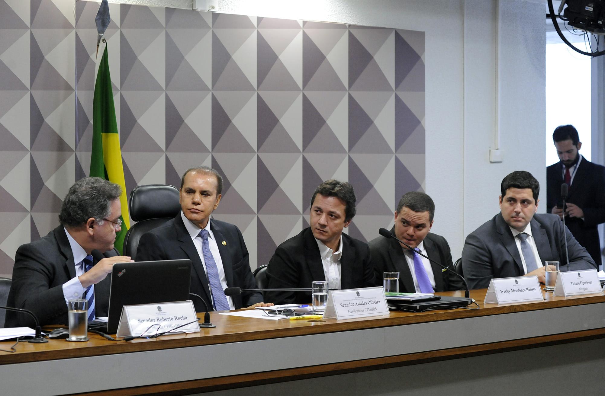 Wesley Batista permanece em silêncio em depoimento na CPMI da JBS