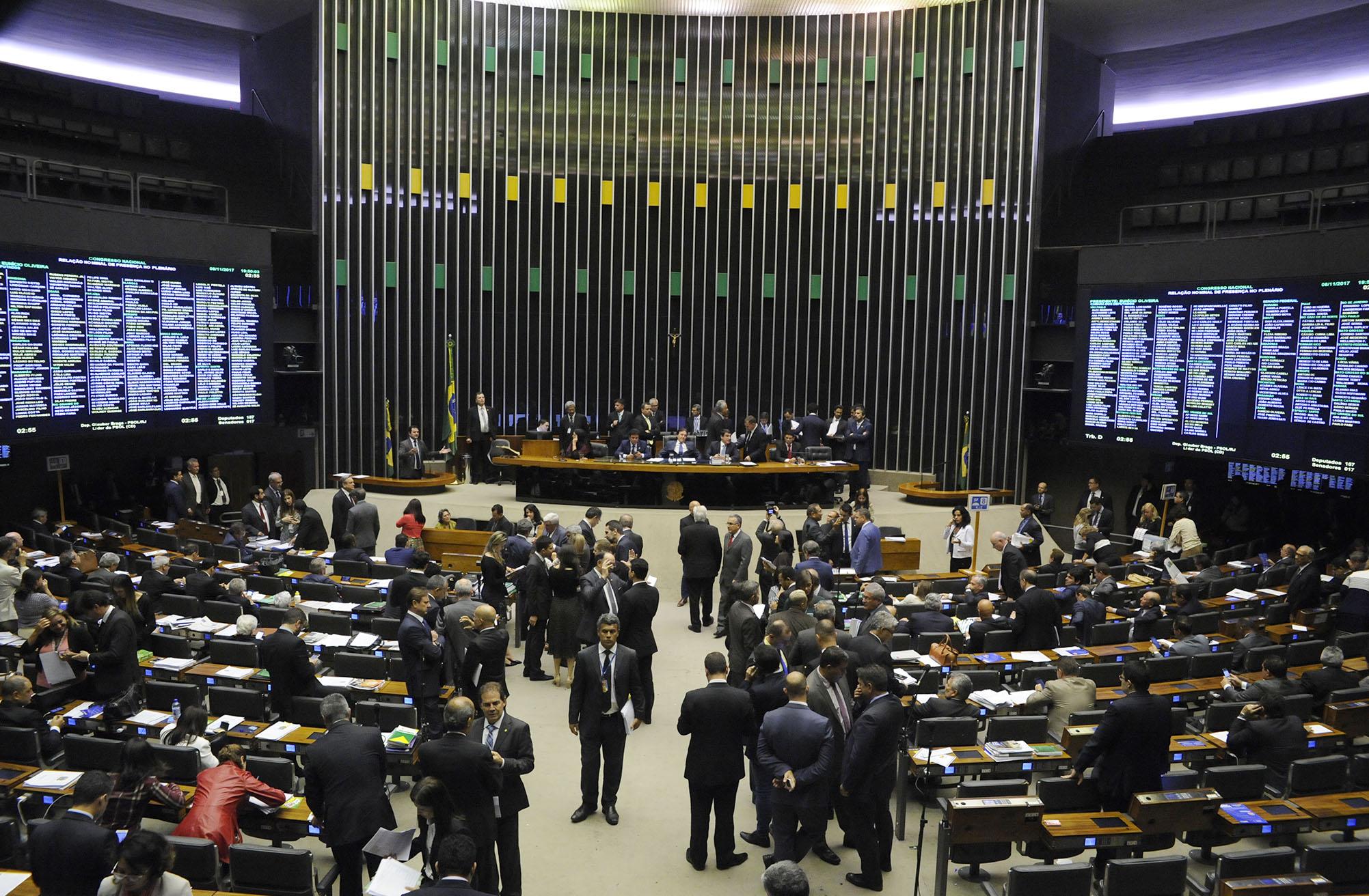 Sessão do Plenário para votação de vetos