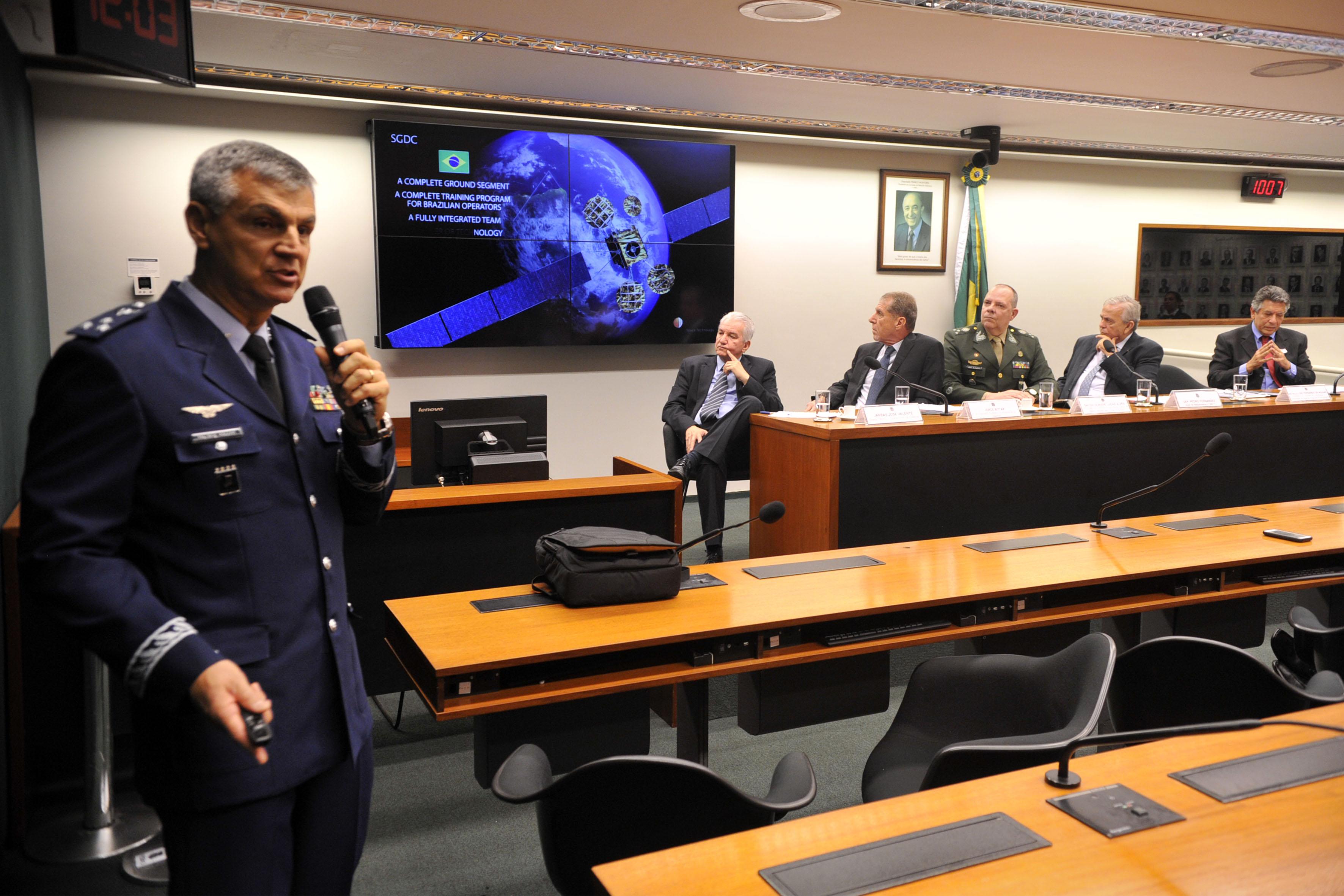 Audiência pública sobre a operação do Satélite Geoestacionário de Defesa e Comunicação