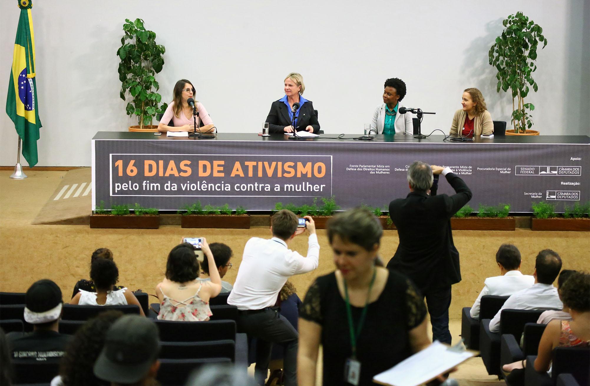 Debatedoras pedem medidas de proteção às mulheres contra violência na internet