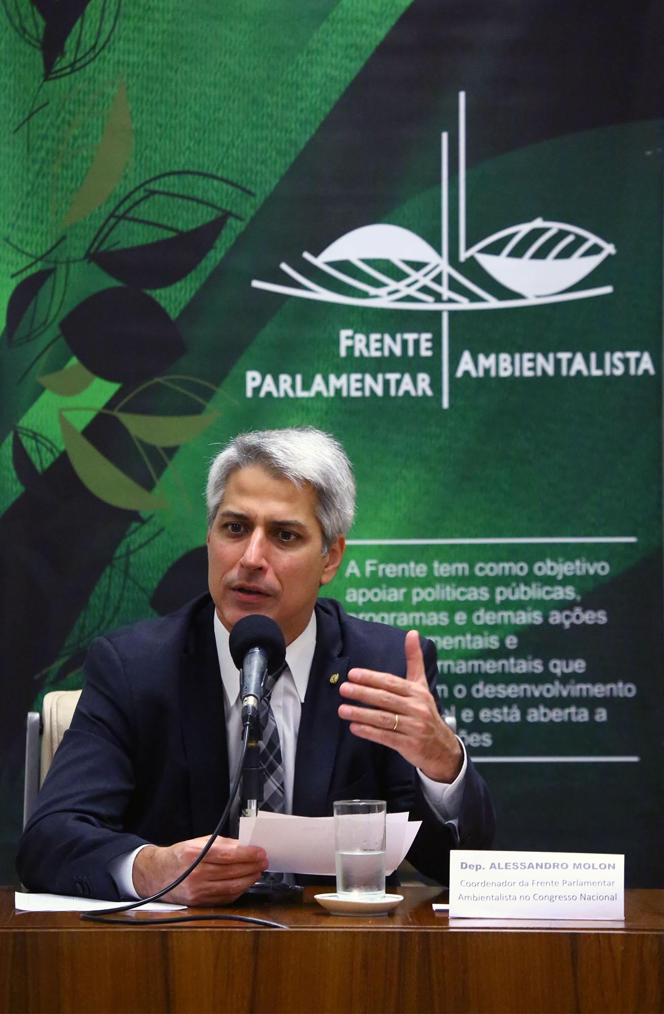 """Seminário """"Implementação das Cotas de Reserva Ambiental (CRA) nos estados Brasileiros"""". Dep. Alessandro Molon (REDE-RJ)"""