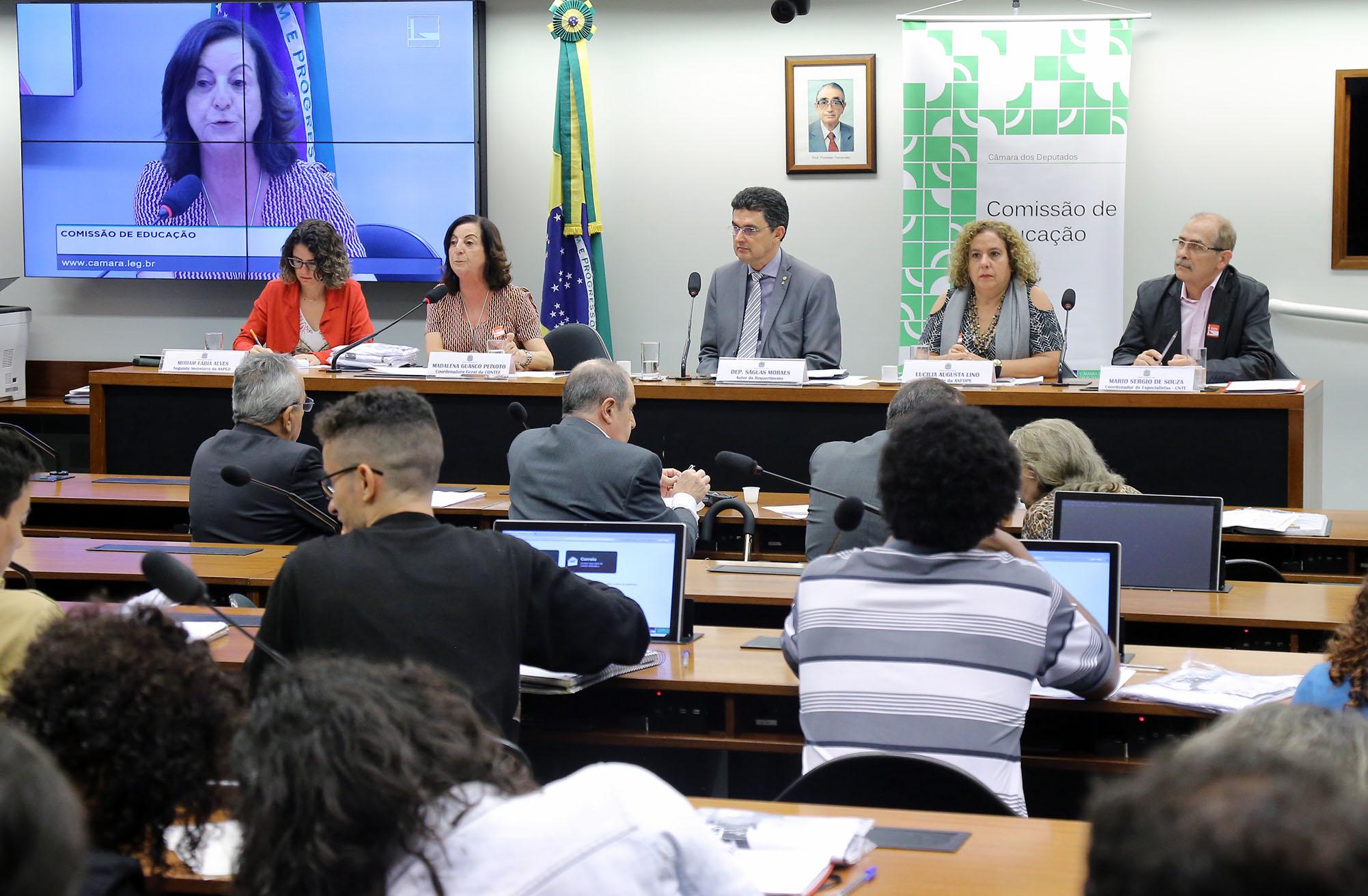 Audiência pública sobre a Regulamentação do Exercício da Profissão de Pedagogo