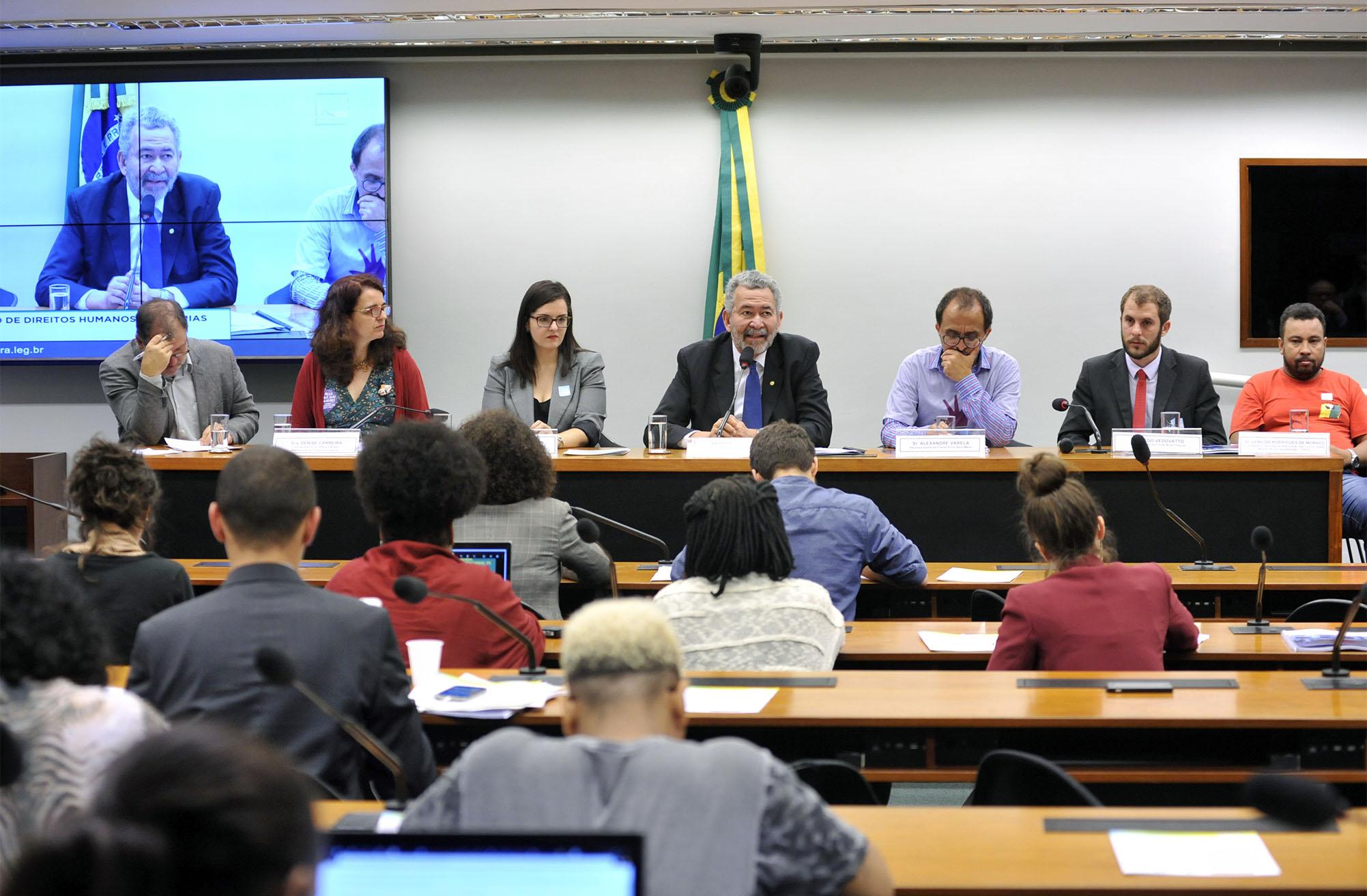 Audiência pública sobre os impactos sociais do Novo Regime Fiscal instituído pela Emenda Constitucional nº 95